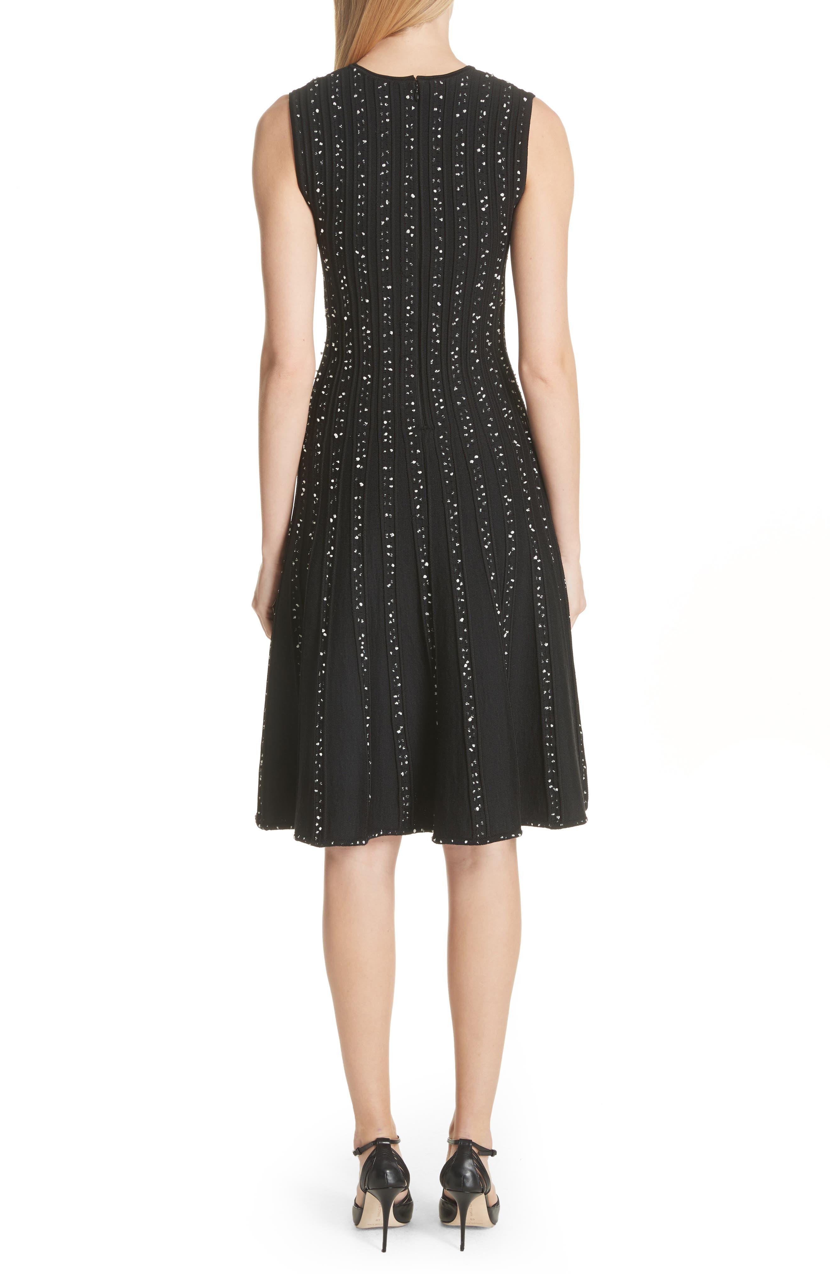 Alternate Image 2  - Jason Wu Polka Dot Wool Blend Fit & Flare Dress