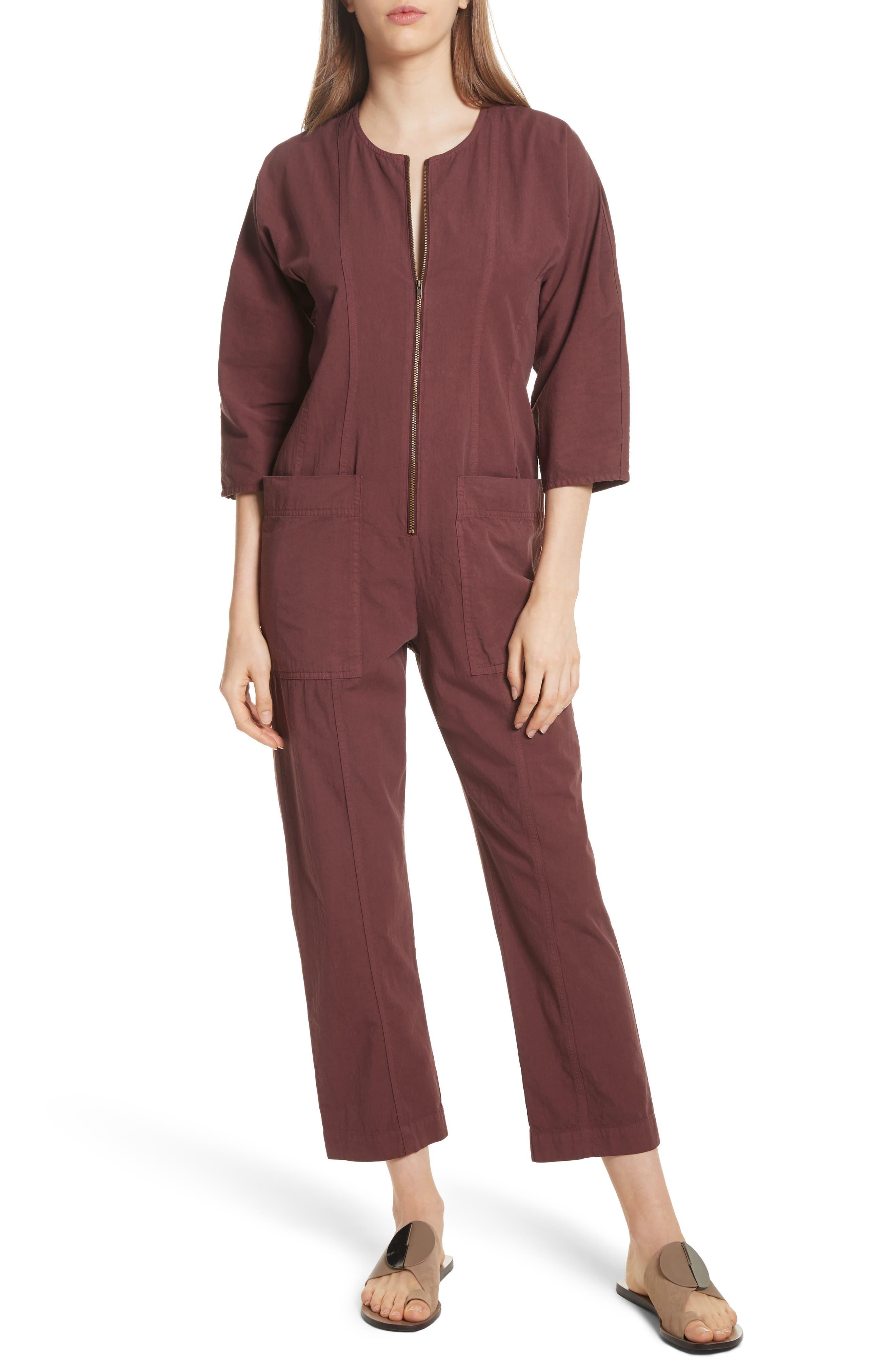 Apiece Apart Flamethrower Zip Front Jumpsuit