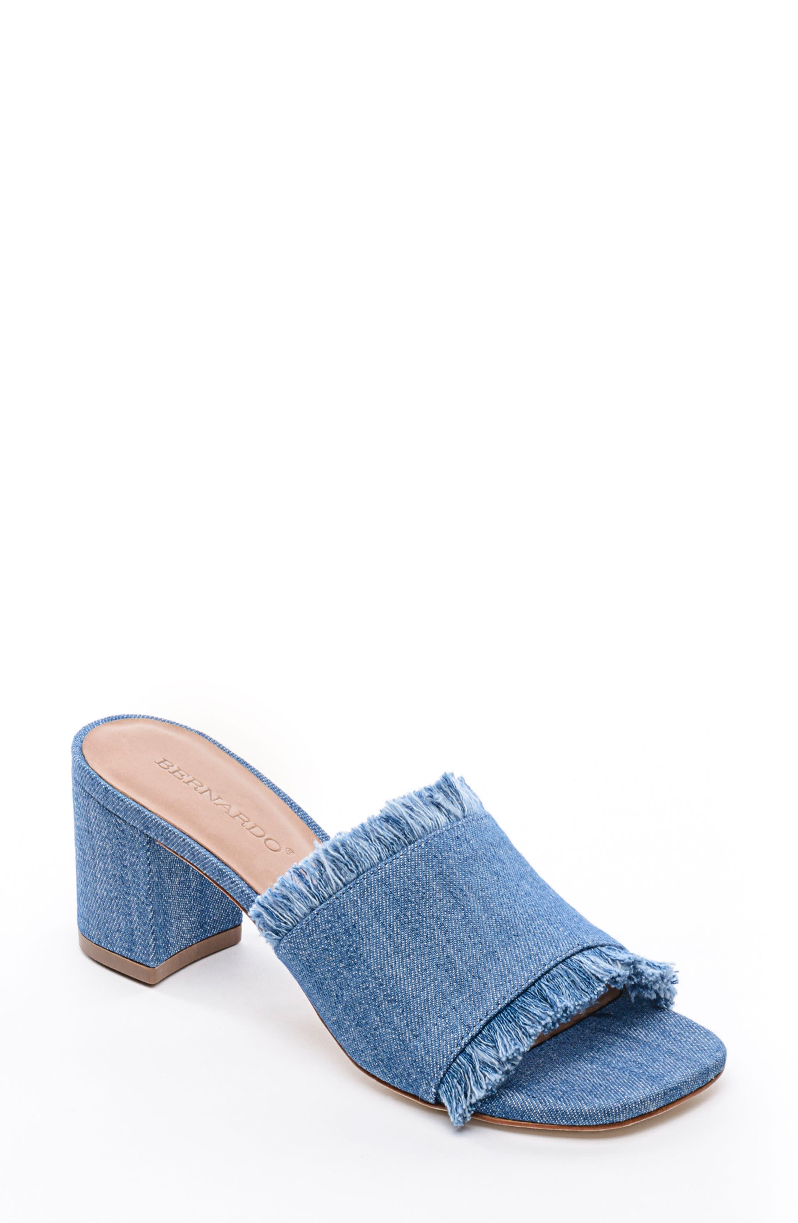 Bernardo Footwear Blair Fringe Mule (Women)