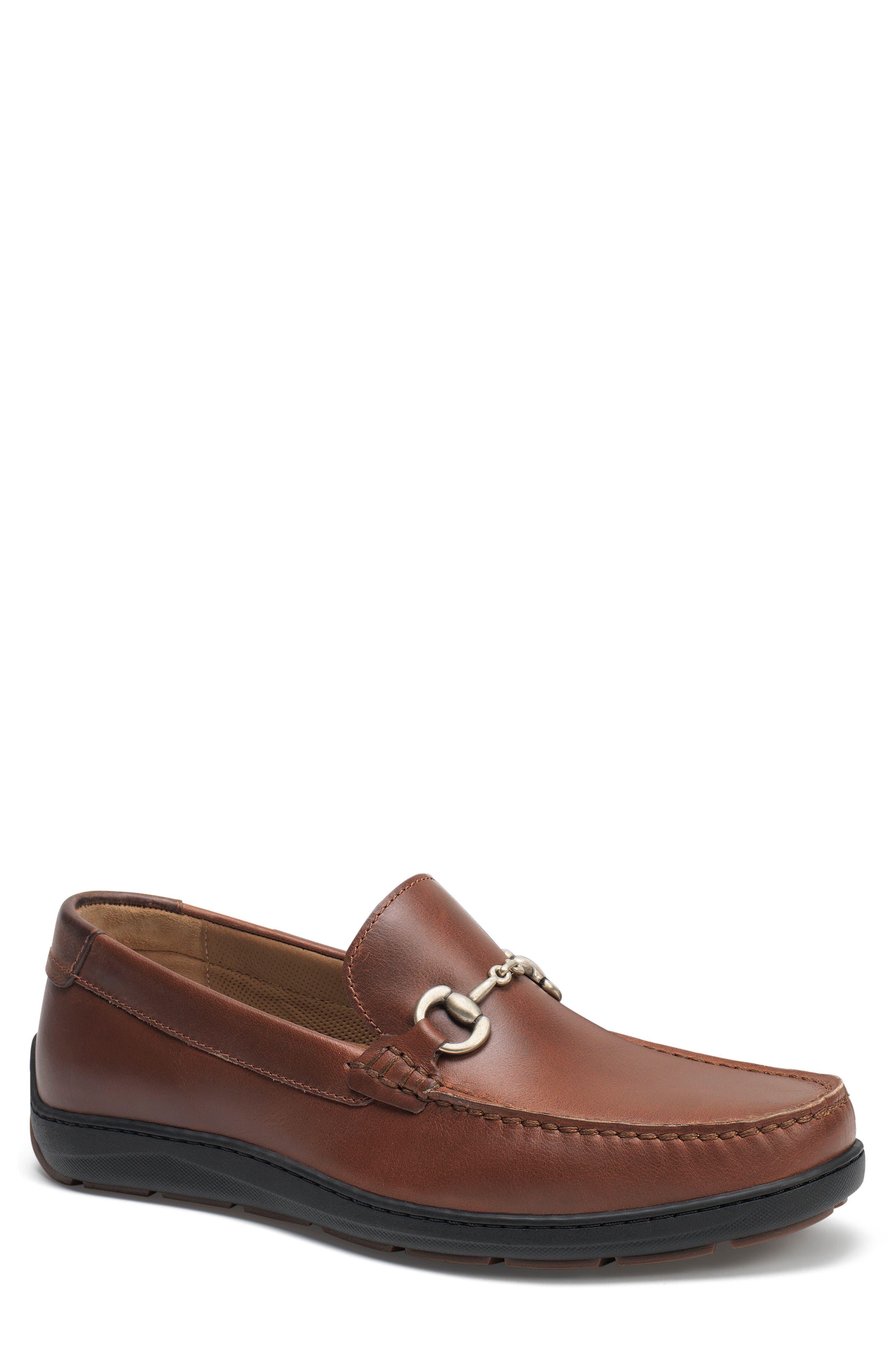Stalworth Bit Loafer,                         Main,                         color, Brandy Leather