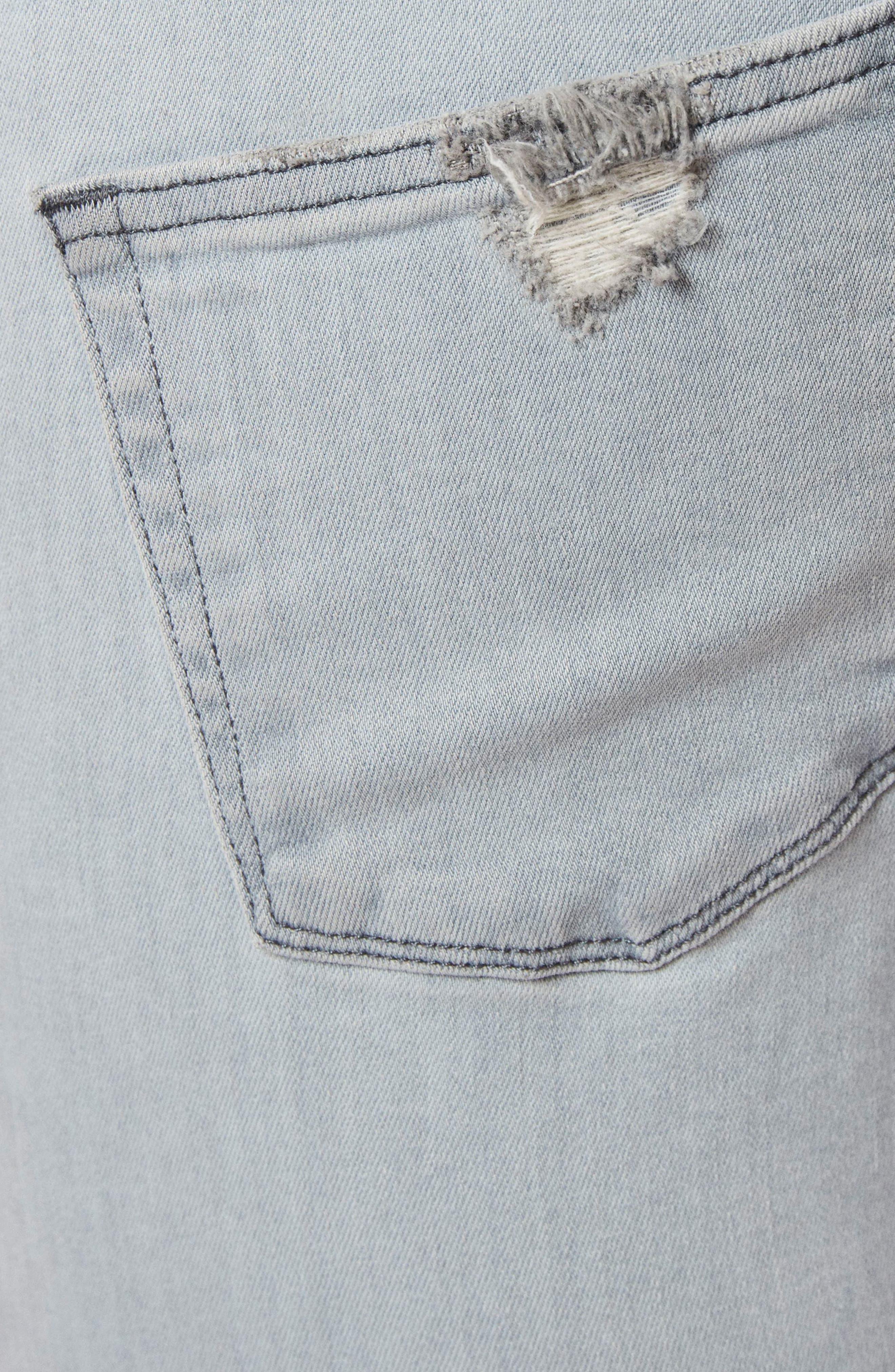 Tyler Slim Fit Jeans,                             Alternate thumbnail 5, color,                             Trounced Porpoise