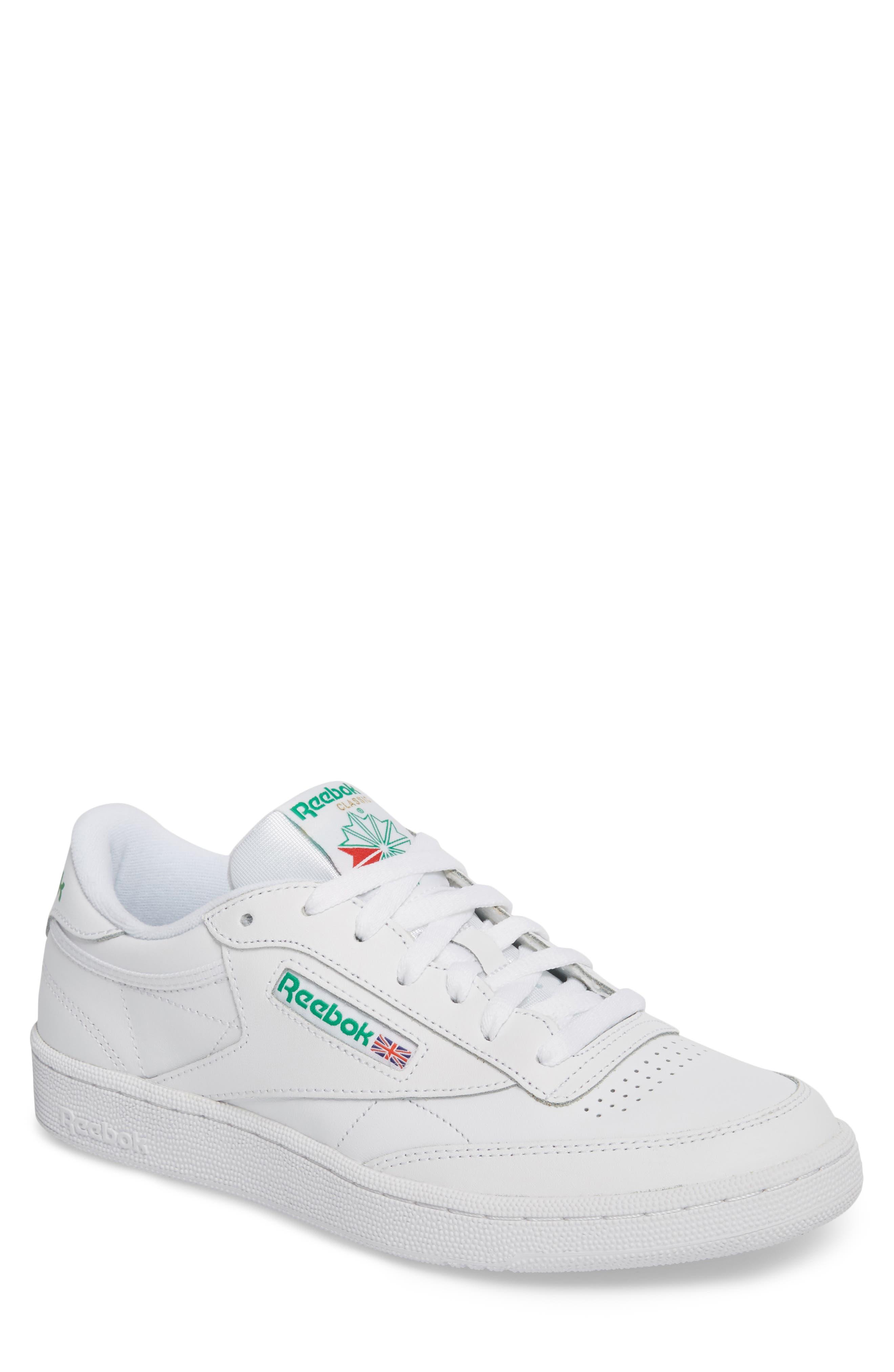 Club C 85 Sneaker,                             Main thumbnail 1, color,                             White