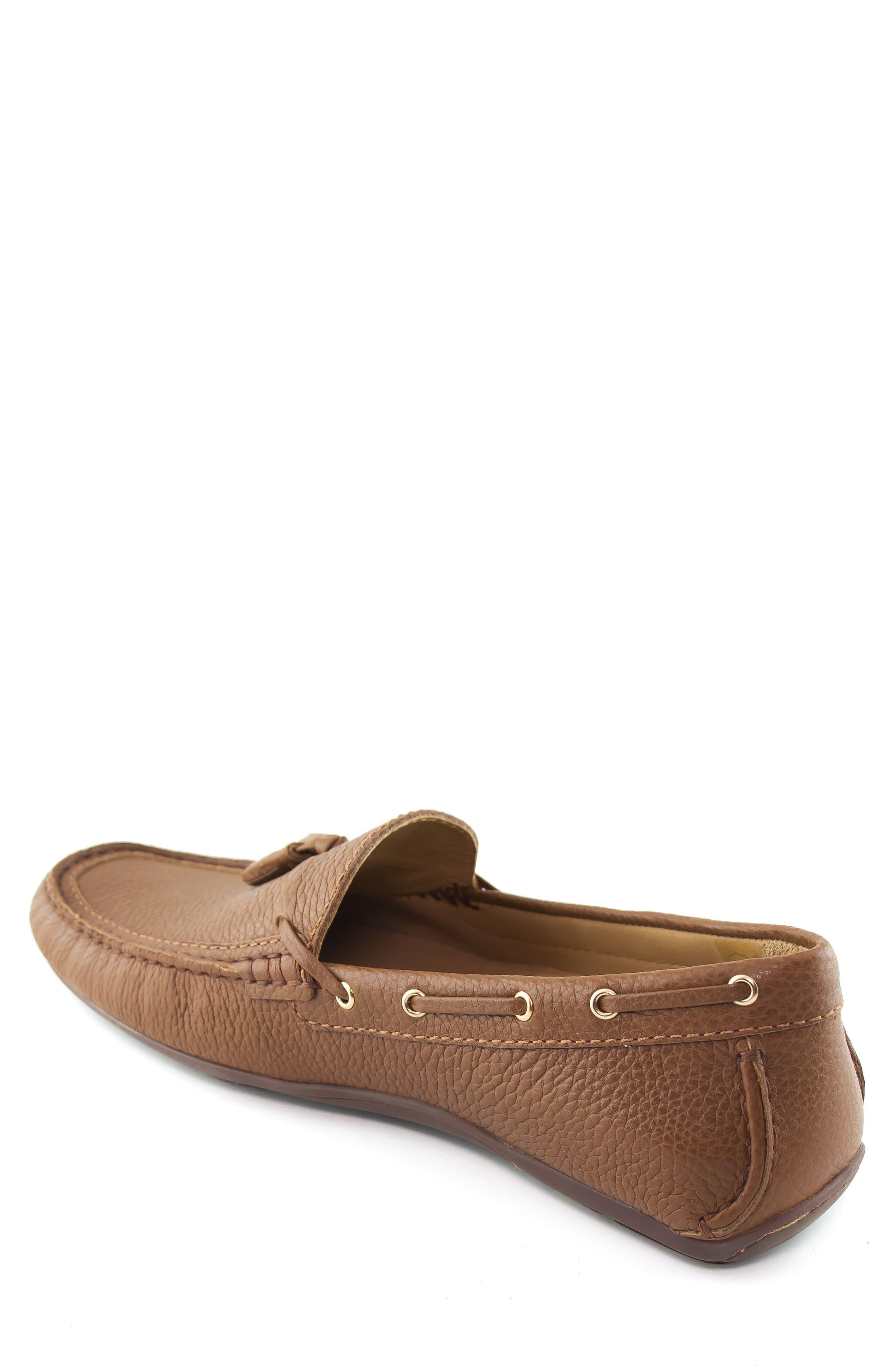 Bushwick Tasseled Driving Loafer,                             Alternate thumbnail 2, color,                             Cognac
