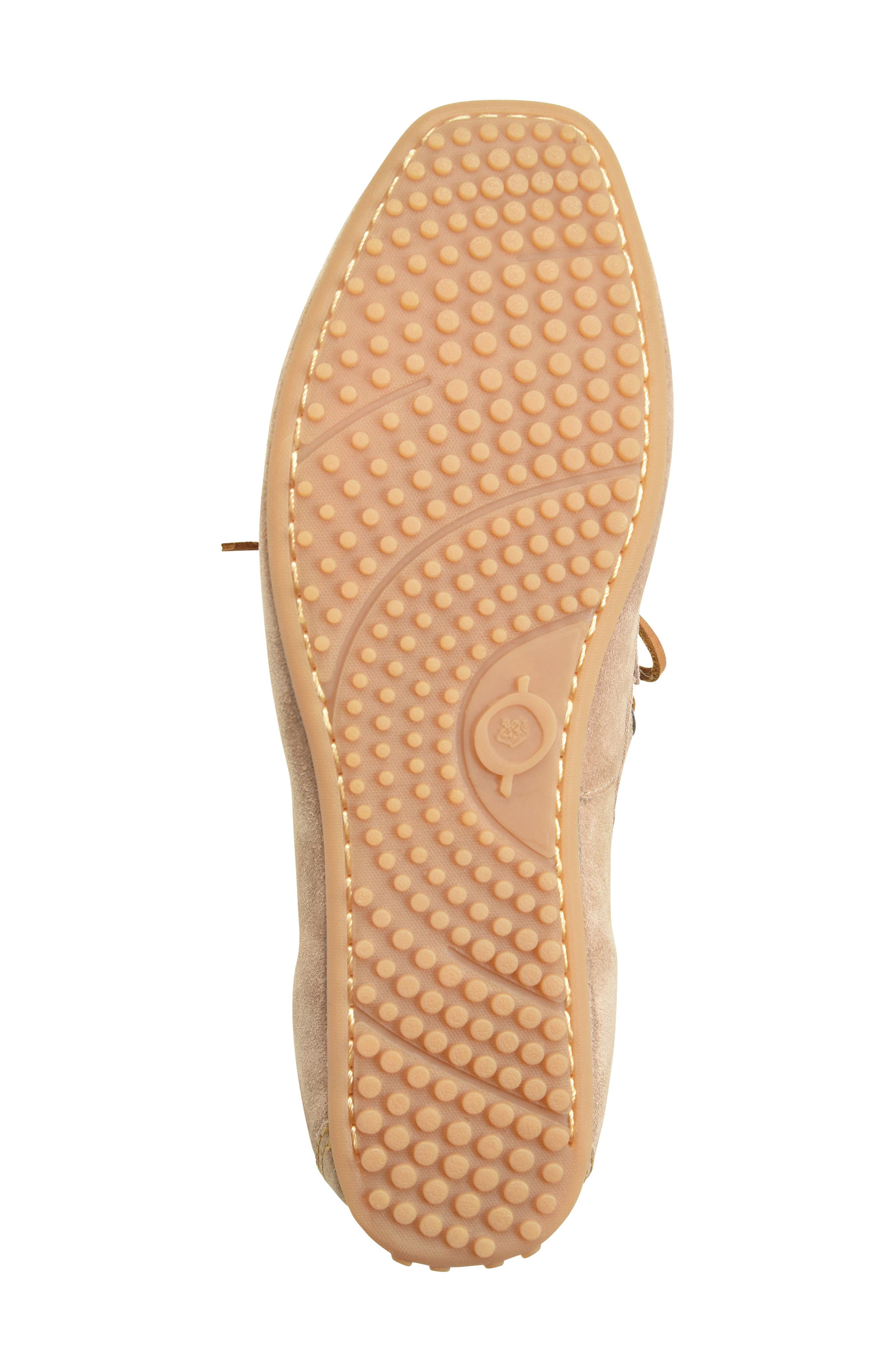 Virgo Driving Shoe,                             Alternate thumbnail 6, color,                             Taupe Suede