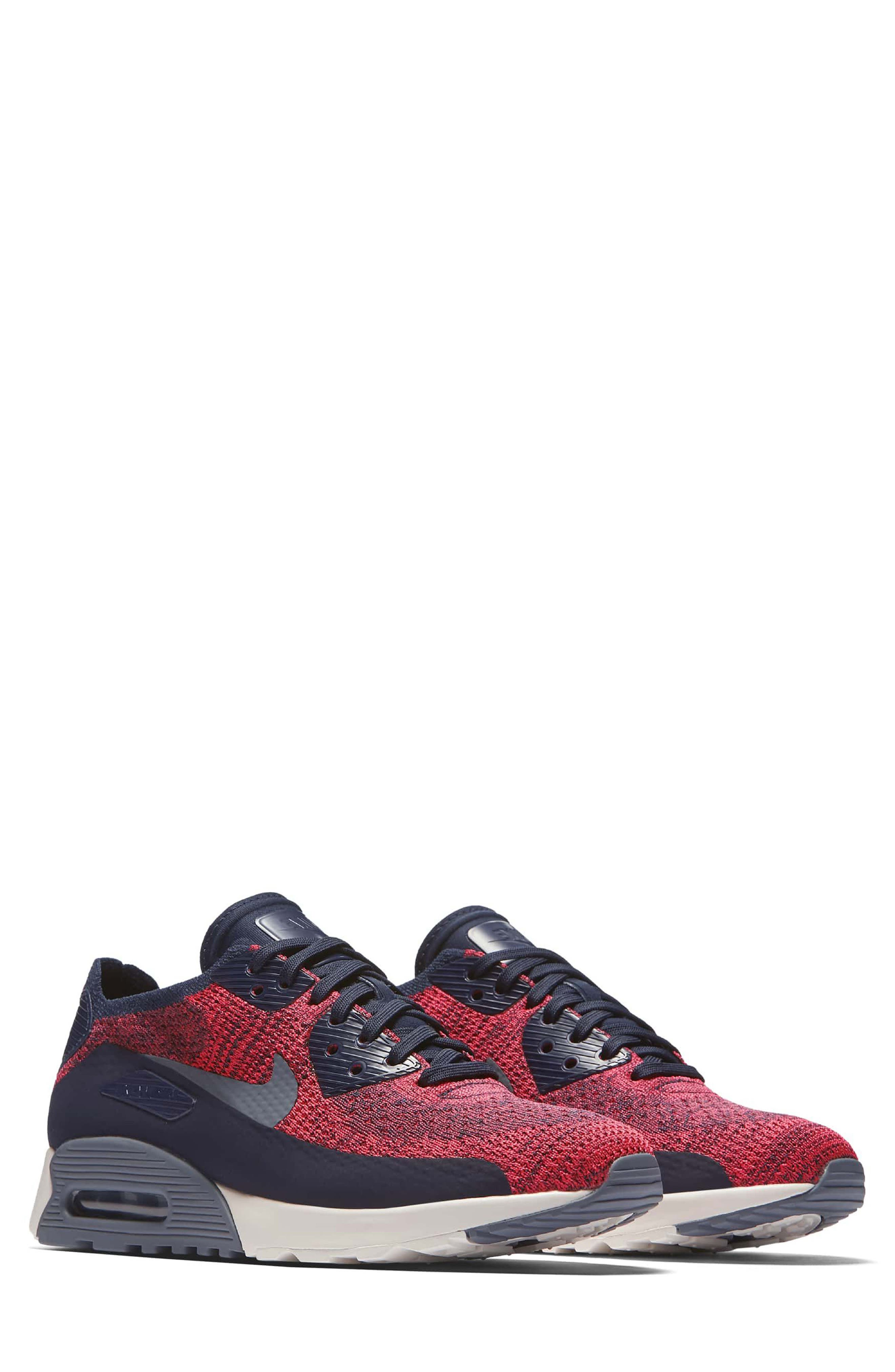 Alternate Image 1 Selected - Nike Air Max 90 Flyknit Ultra 2.0 Sneaker (Women)