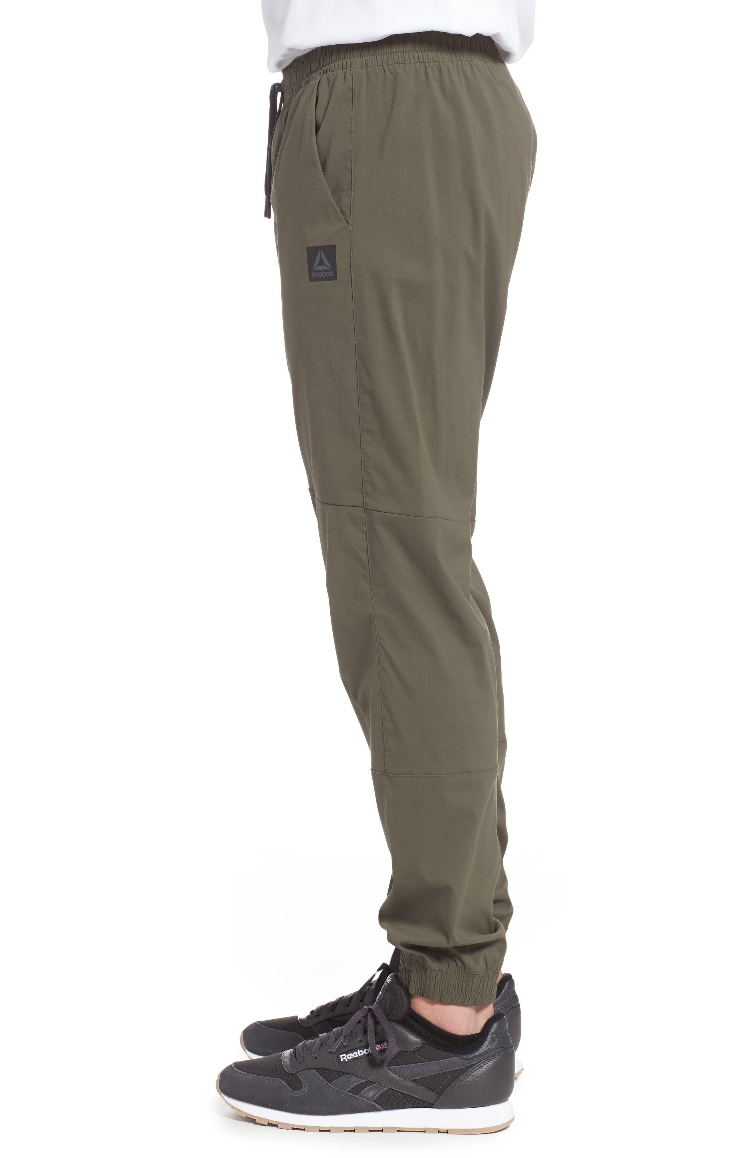 Woven Jogger Pants,                             Alternate thumbnail 3, color,                             Army Green