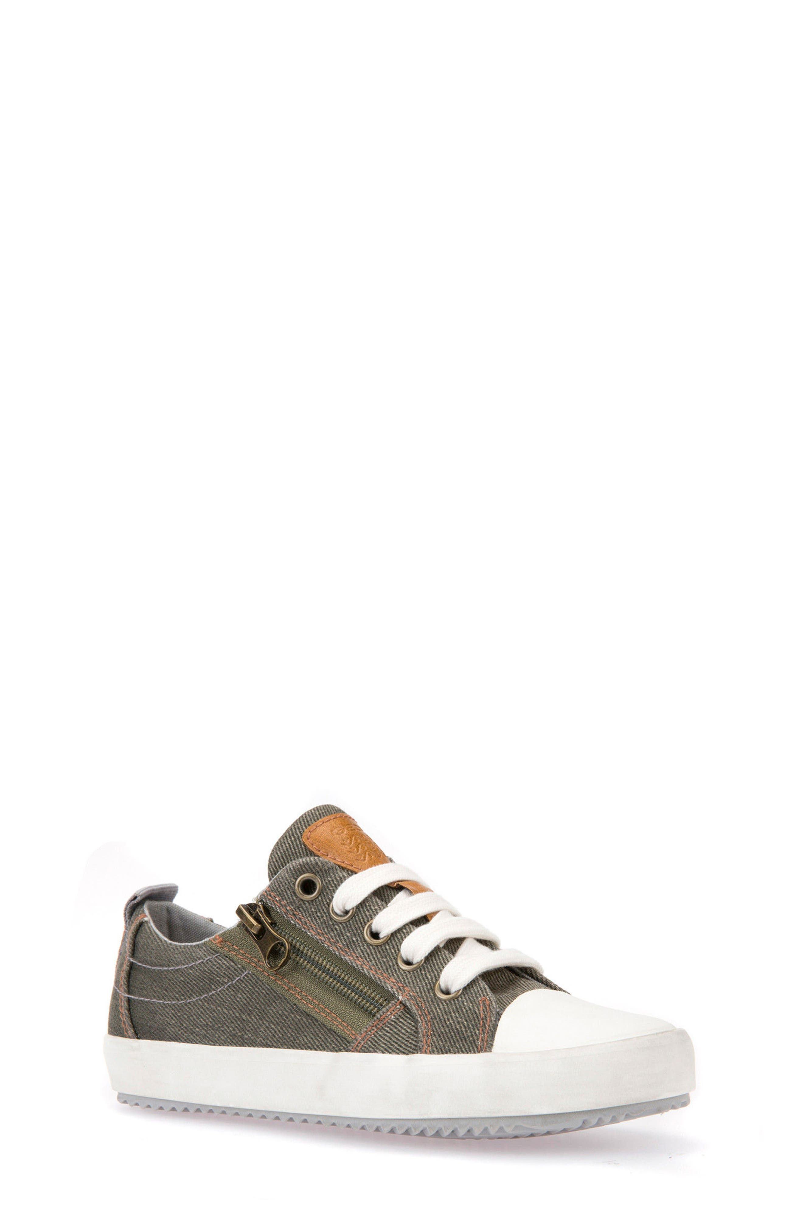 Alternate Image 1 Selected - Geox Alonisso Low Top Sneaker (Toddler, Little Kid & Big Kid)