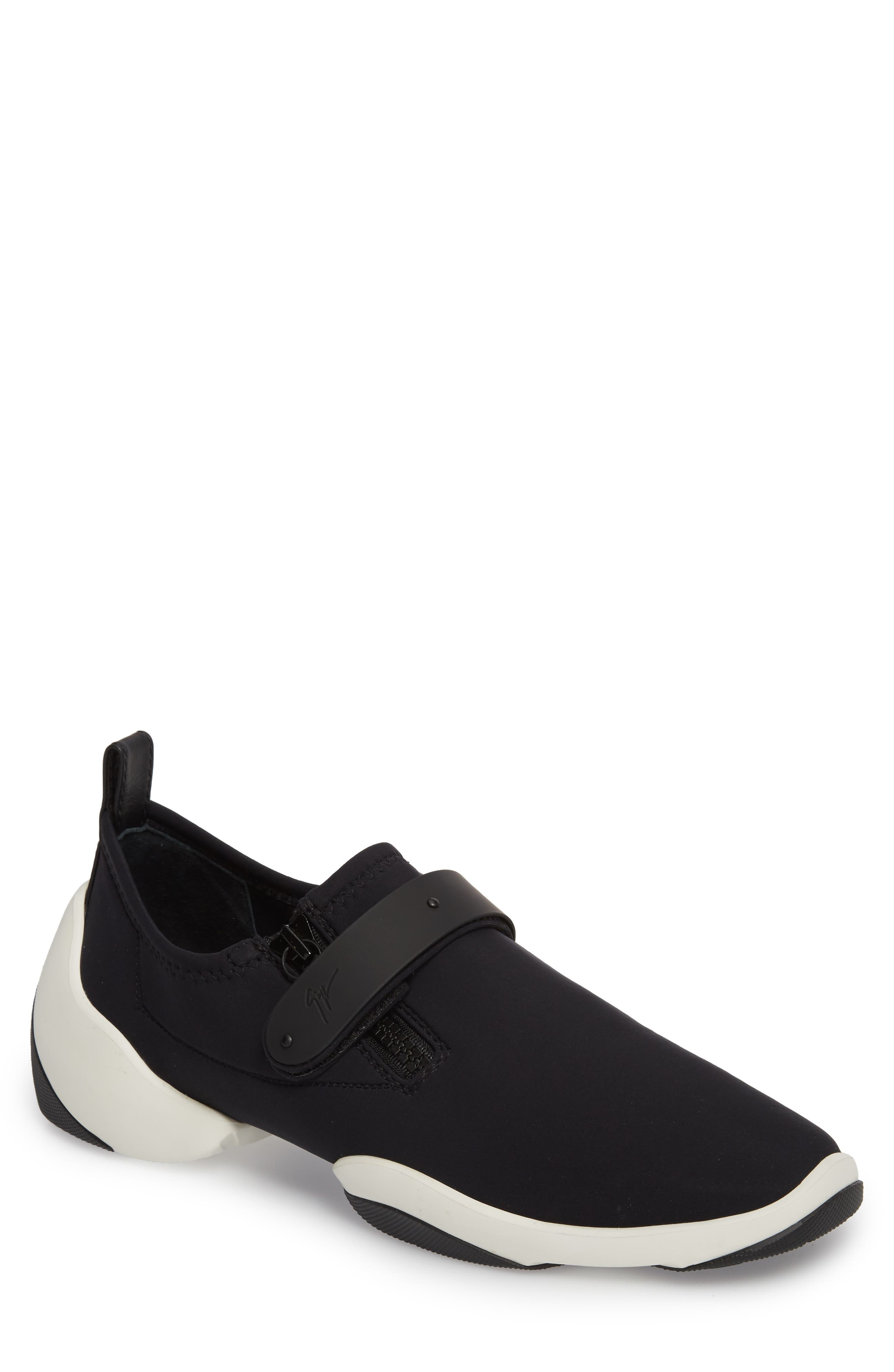 Giuseppe Zanotti Scuba Strap Sneaker (Men)