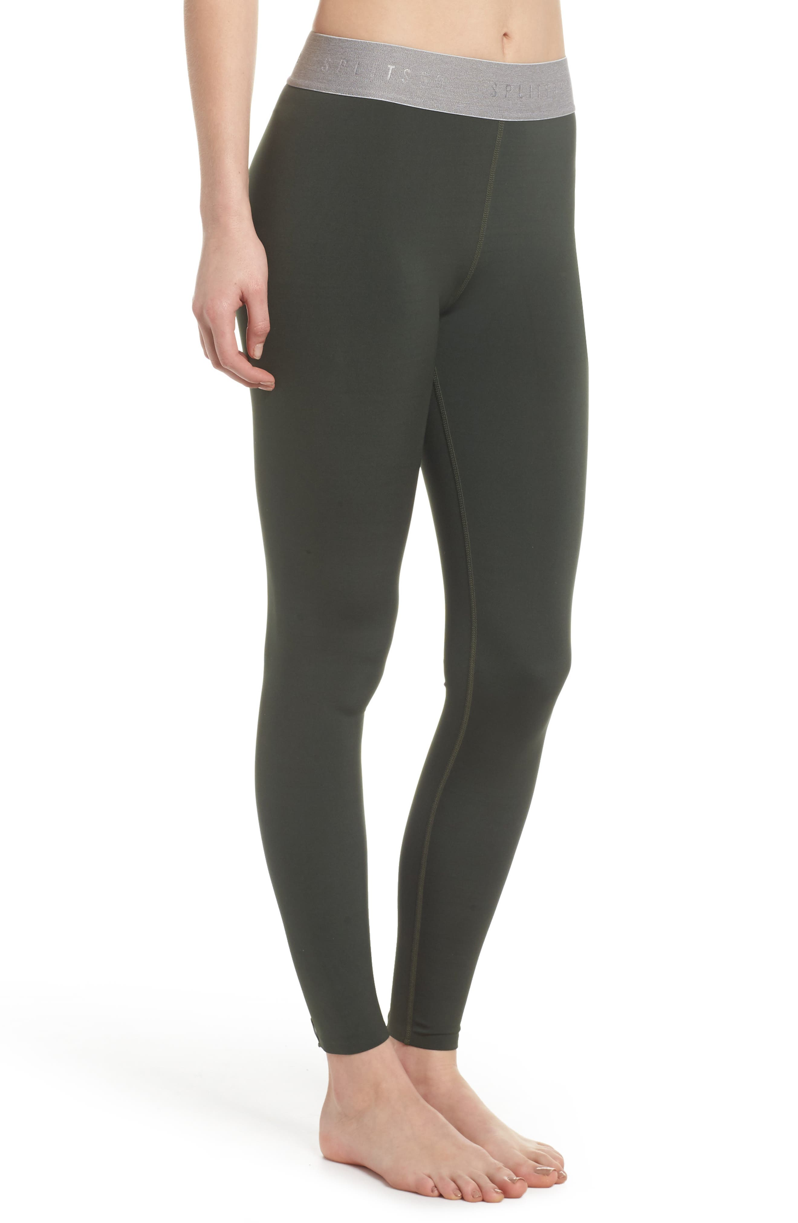 Tempo Ankle Tights,                             Alternate thumbnail 3, color,                             Army