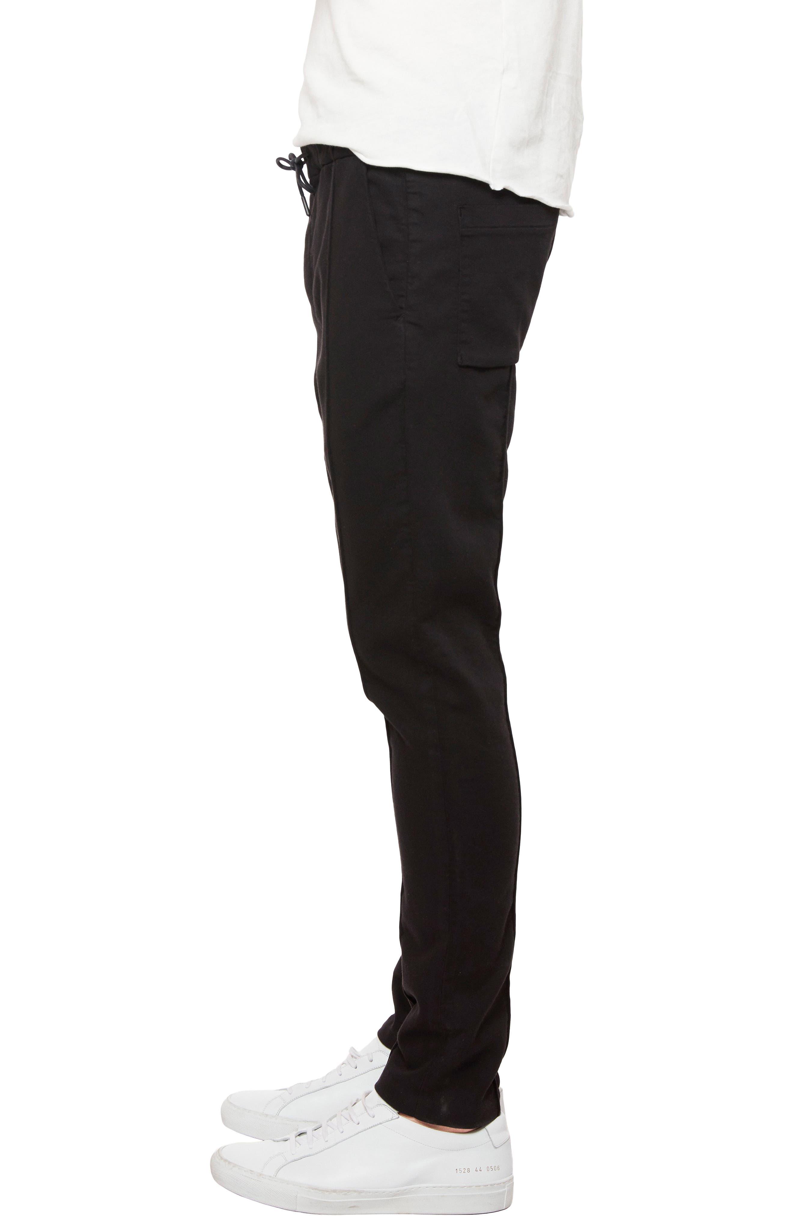 Wakat Relaxed Fit Jogger Pants,                             Alternate thumbnail 3, color,                             Black