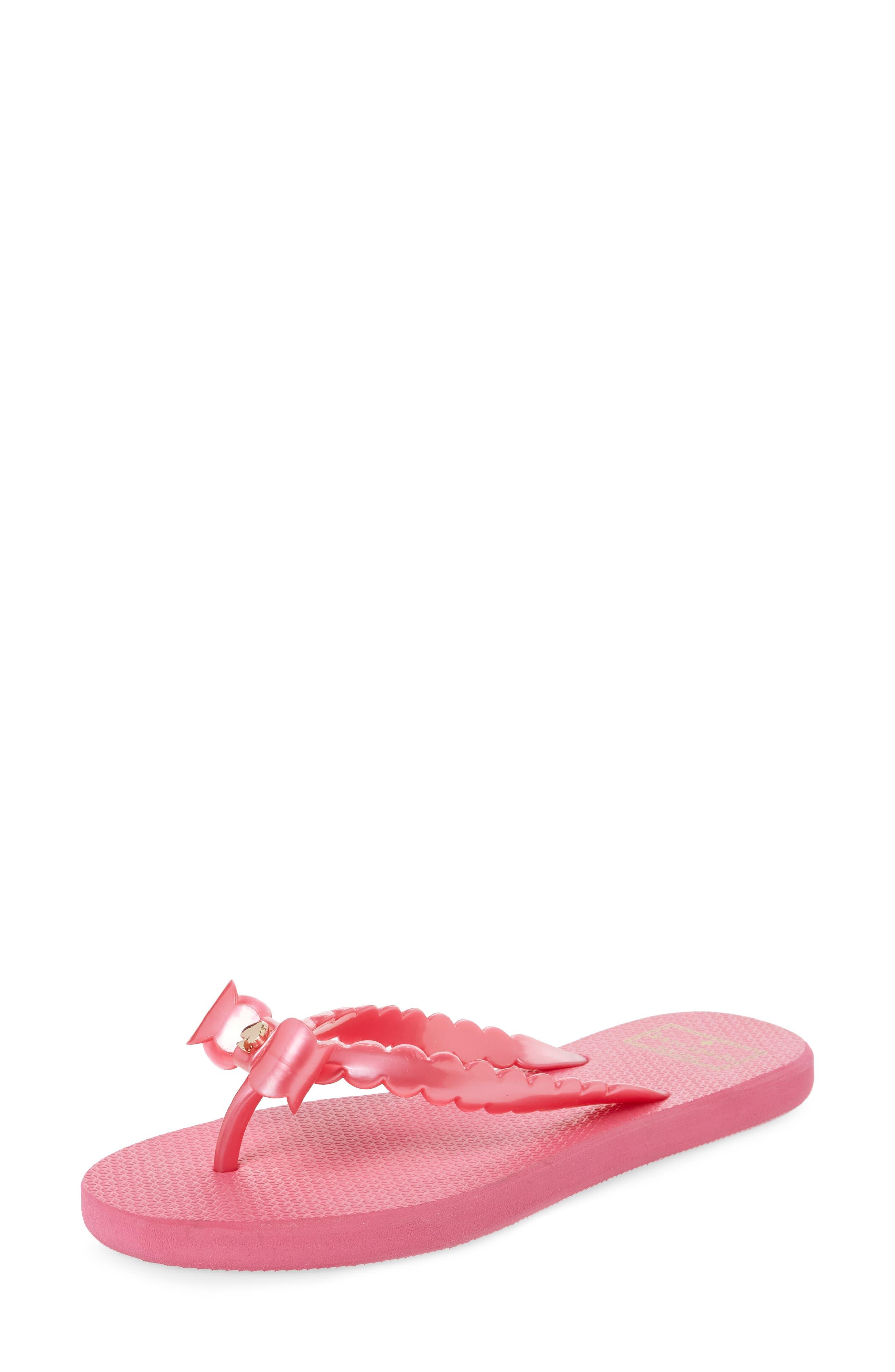 denise flip flop,                         Main,                         color, Deep Pink
