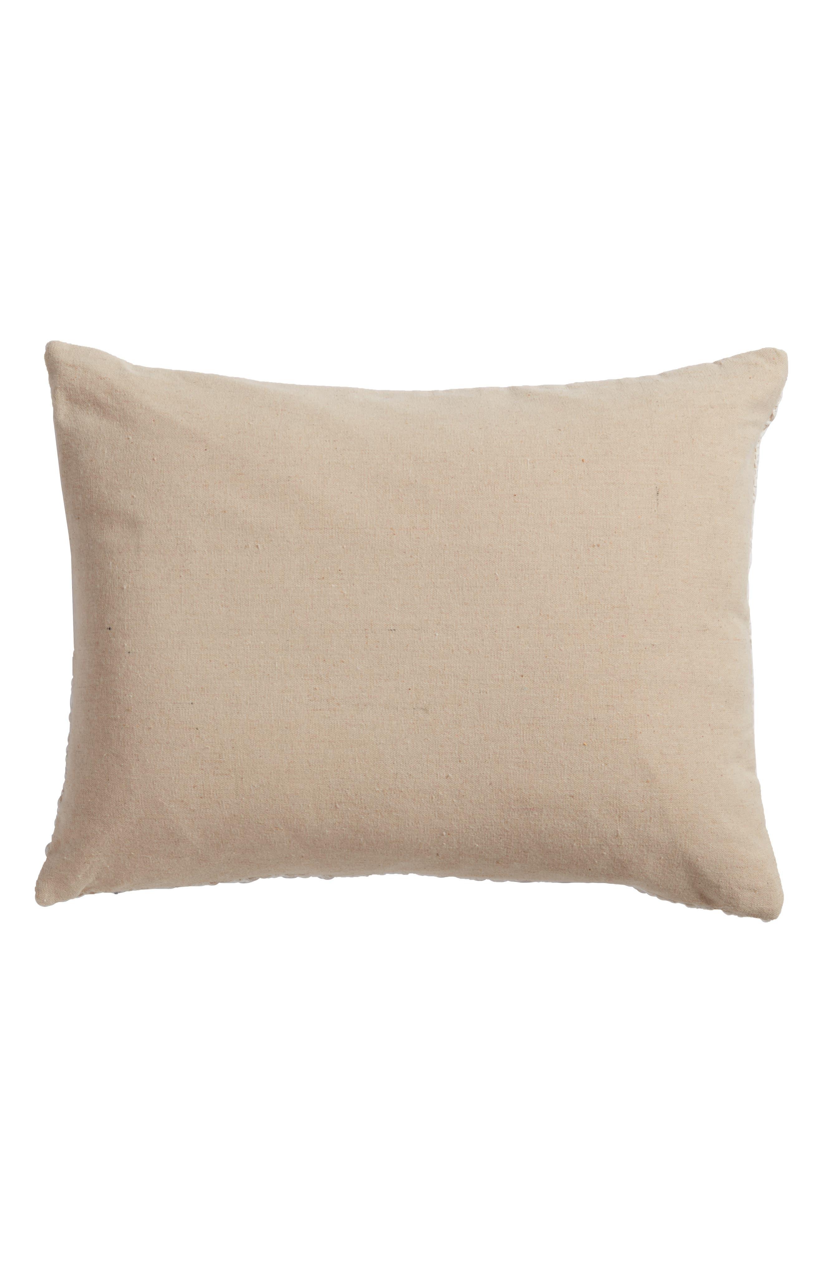 Arden Accent Pillow,                             Alternate thumbnail 2, color,                             Cream