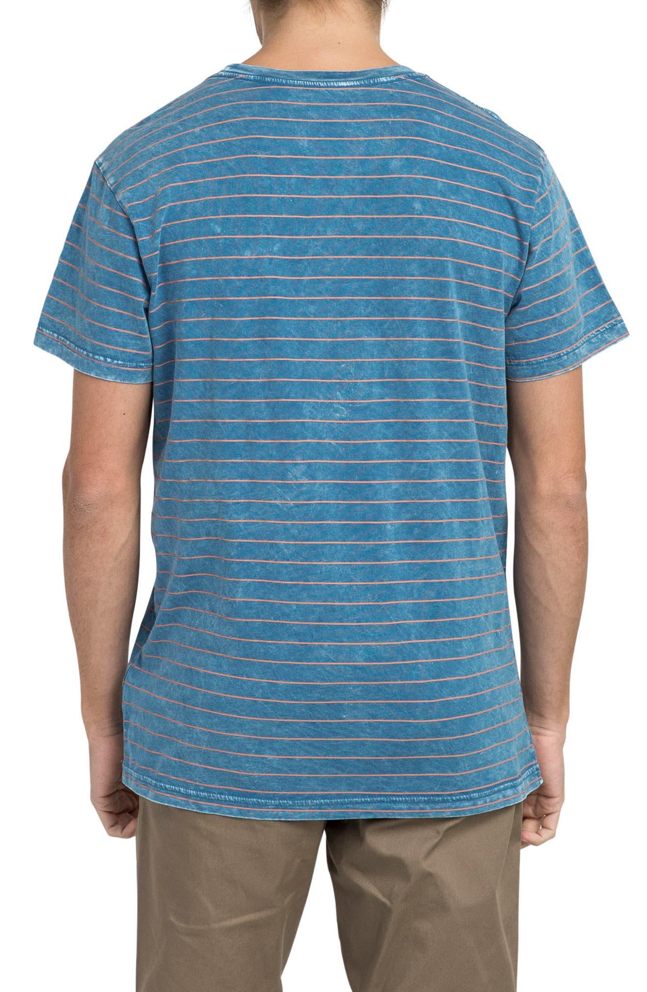Washout T-Shirt,                             Alternate thumbnail 2, color,                             Cobalt
