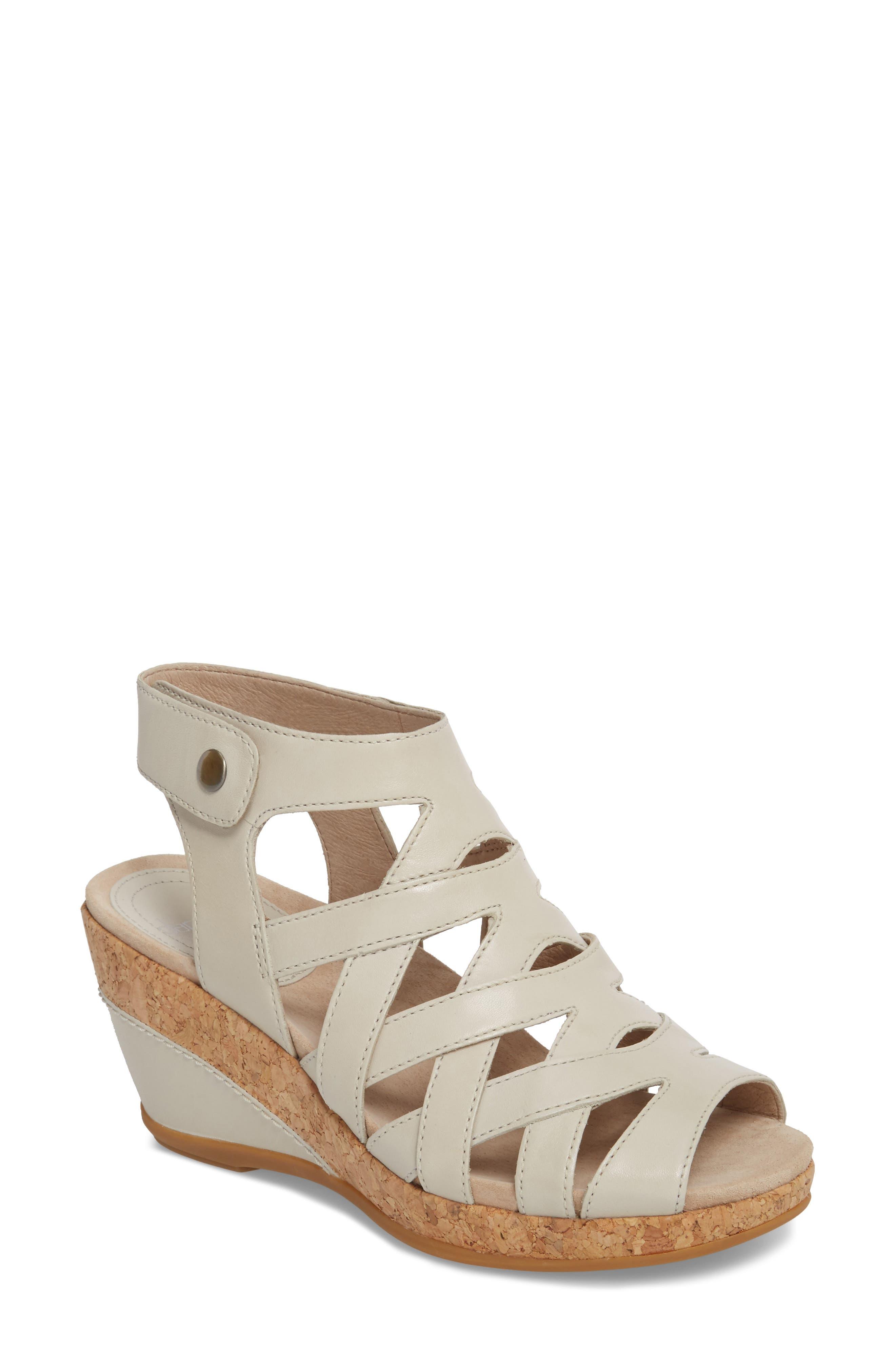 Dansko Cecily Caged Wedge Sandal (Women)