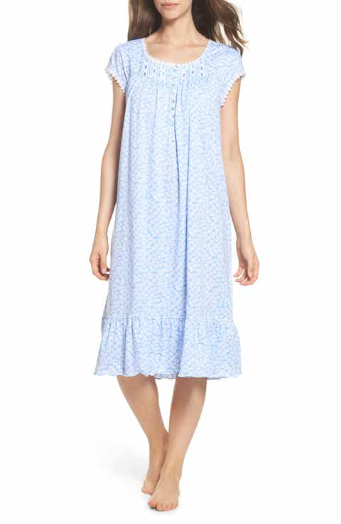 Eileen West Cotton Jersey Waltz Nightgown