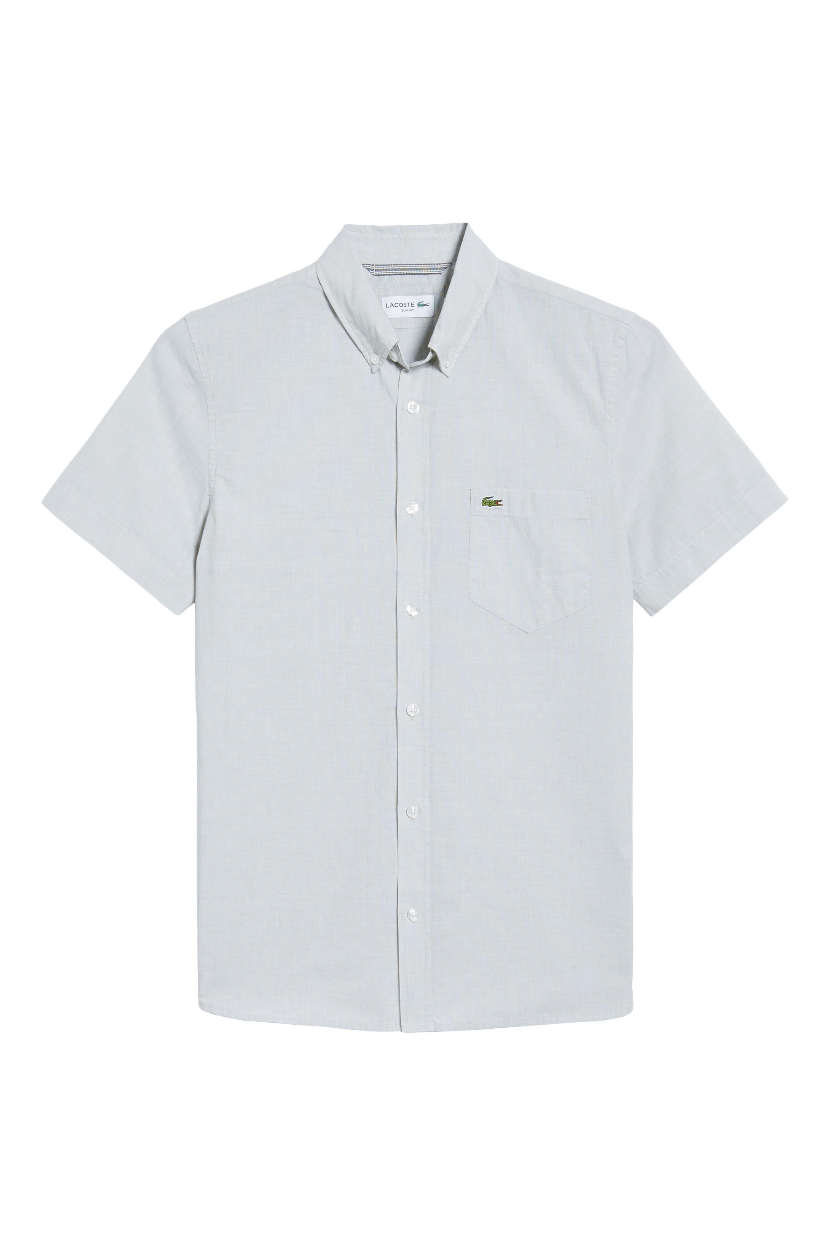 Alternate Image 6  - Lacoste Slim Fit Sport Shirt