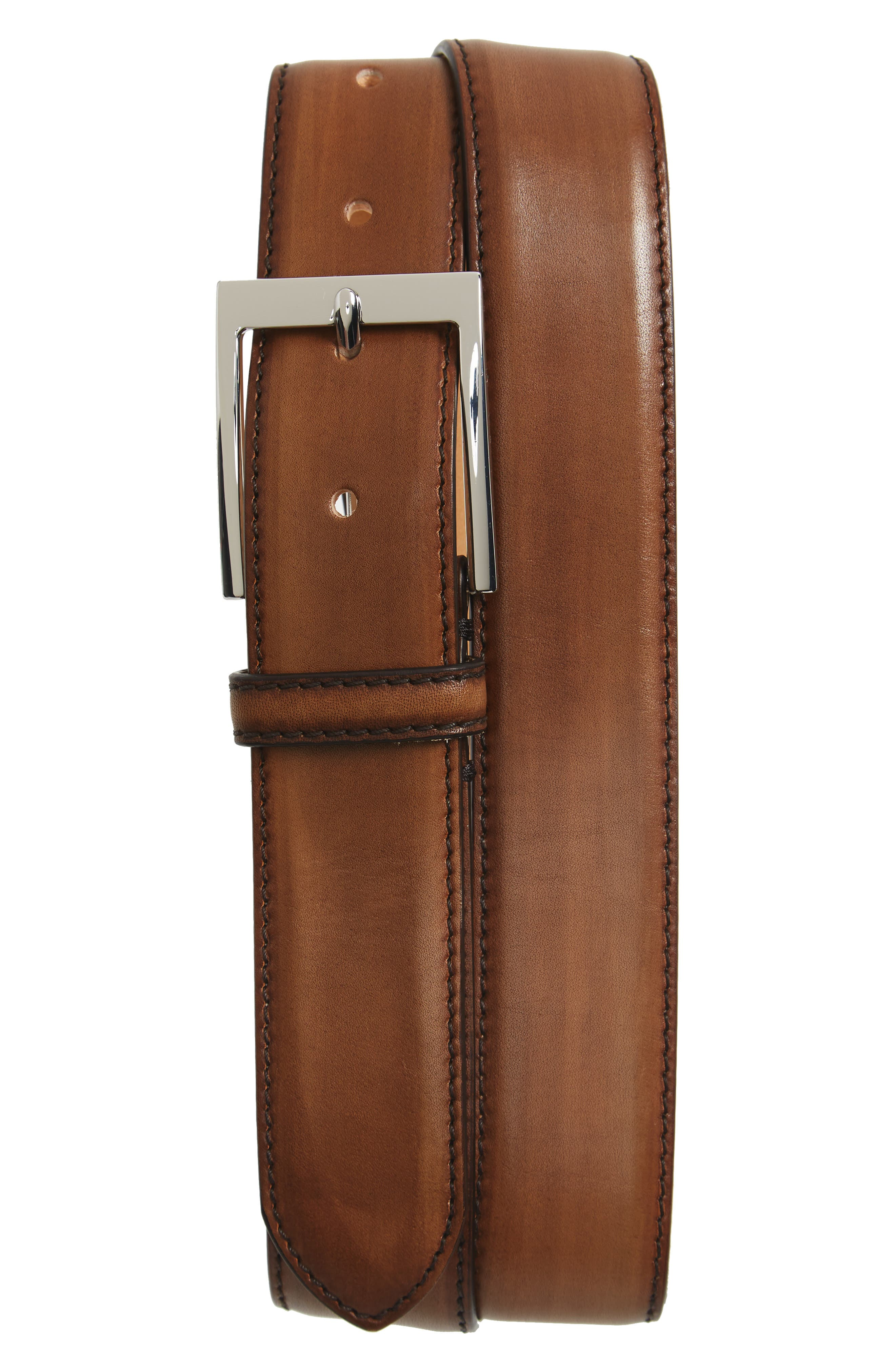 Leather Belt,                             Main thumbnail 1, color,                             Chester