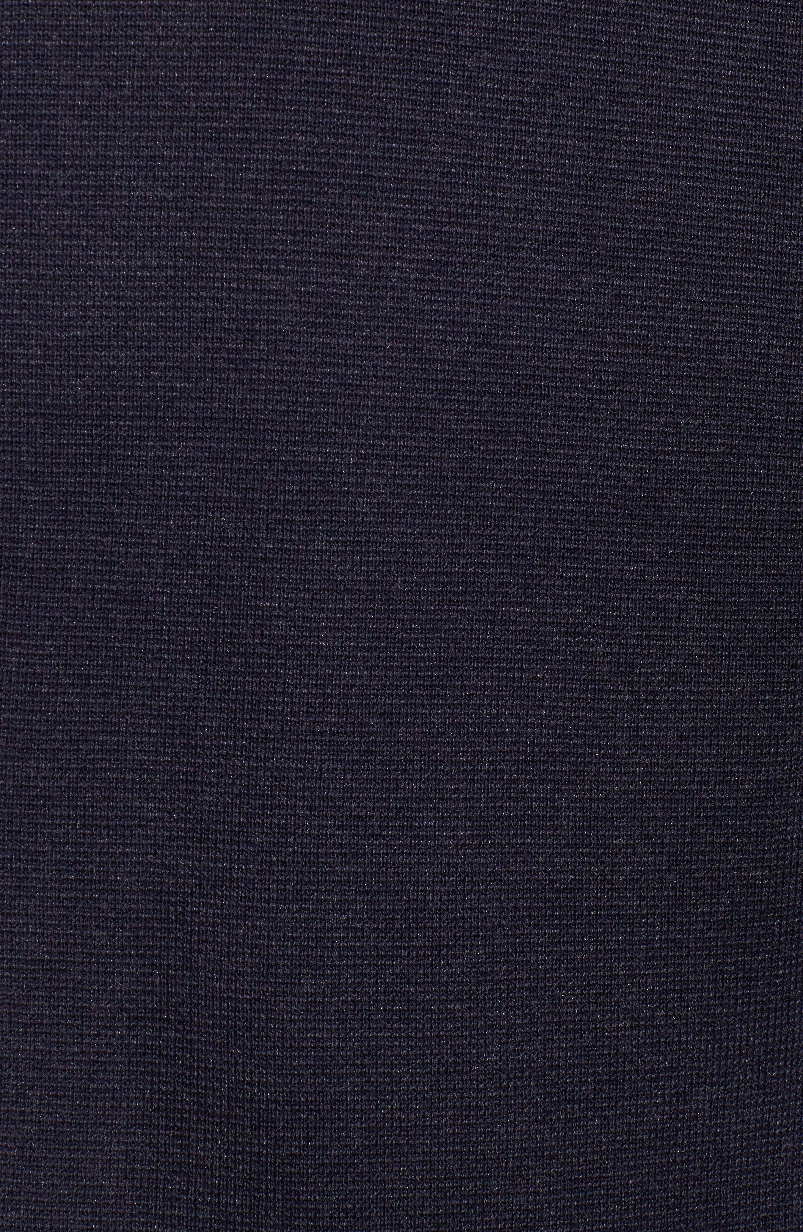 Simple Long Cardigan,                             Alternate thumbnail 5, color,                             Salt Lake