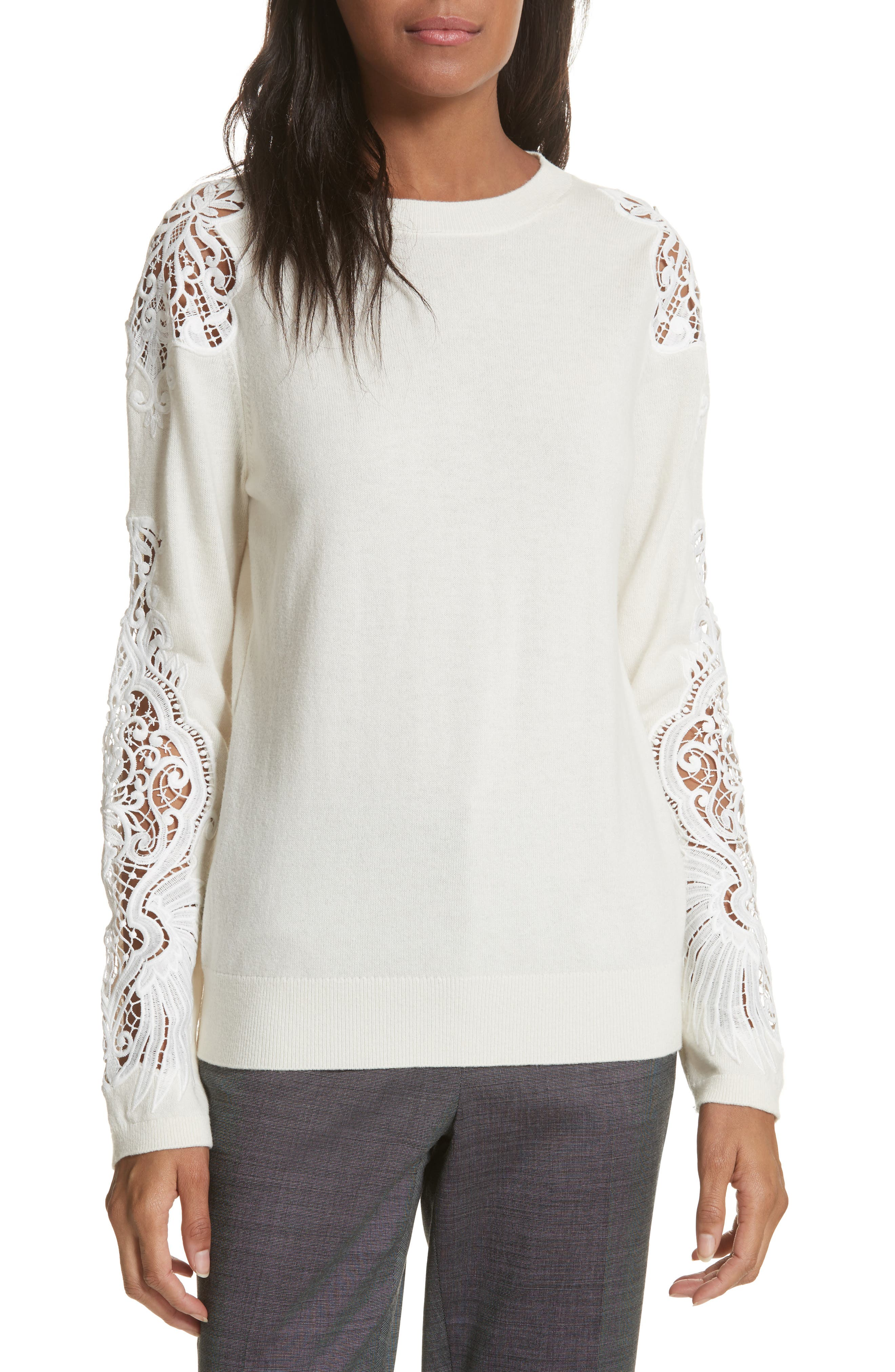 Ted Baker London Lace Detail Sweater