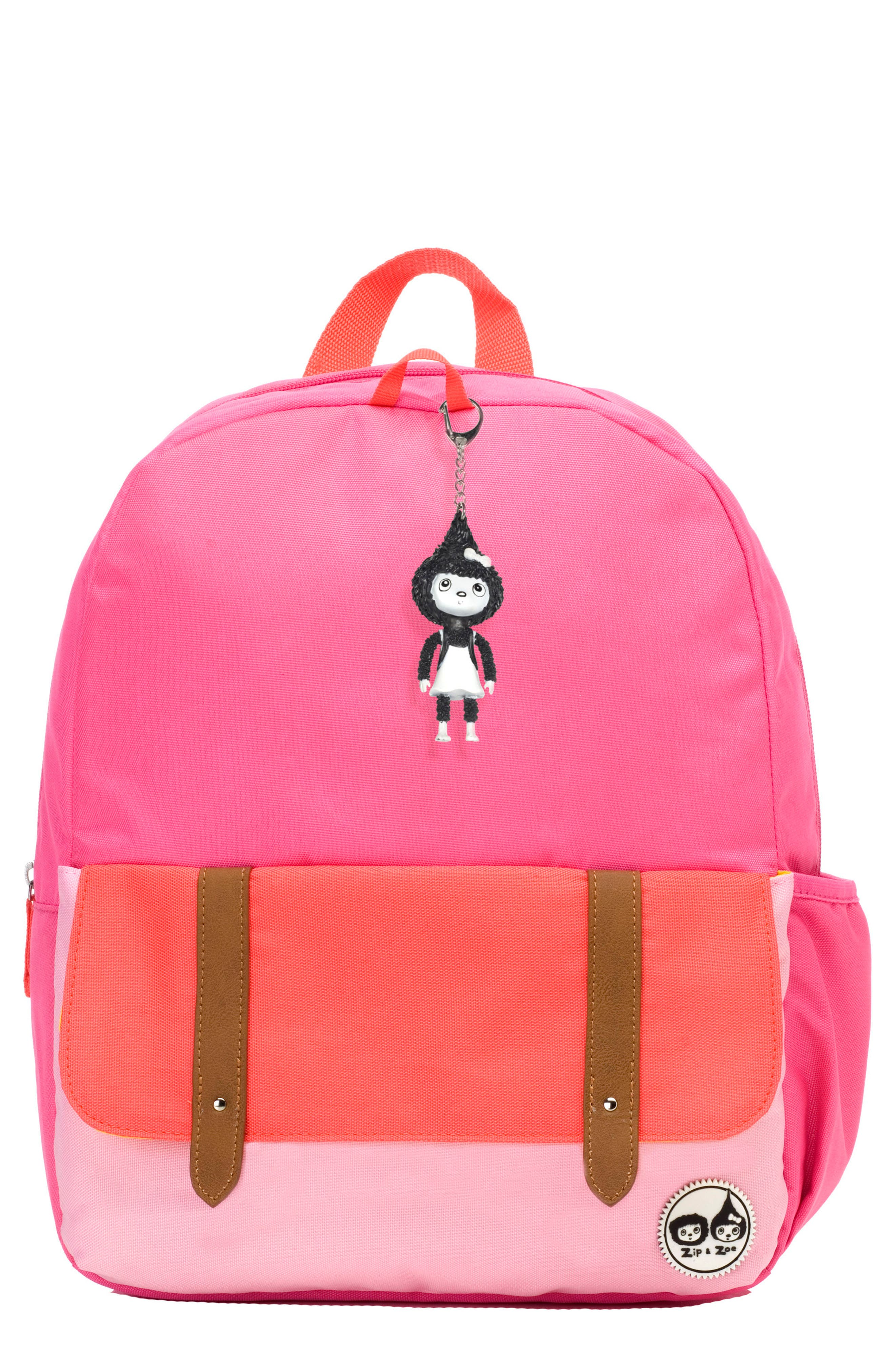 Alternate Image 1 Selected - Babymel Zip & Zoe Colorblock Junior Backpack (Kids)