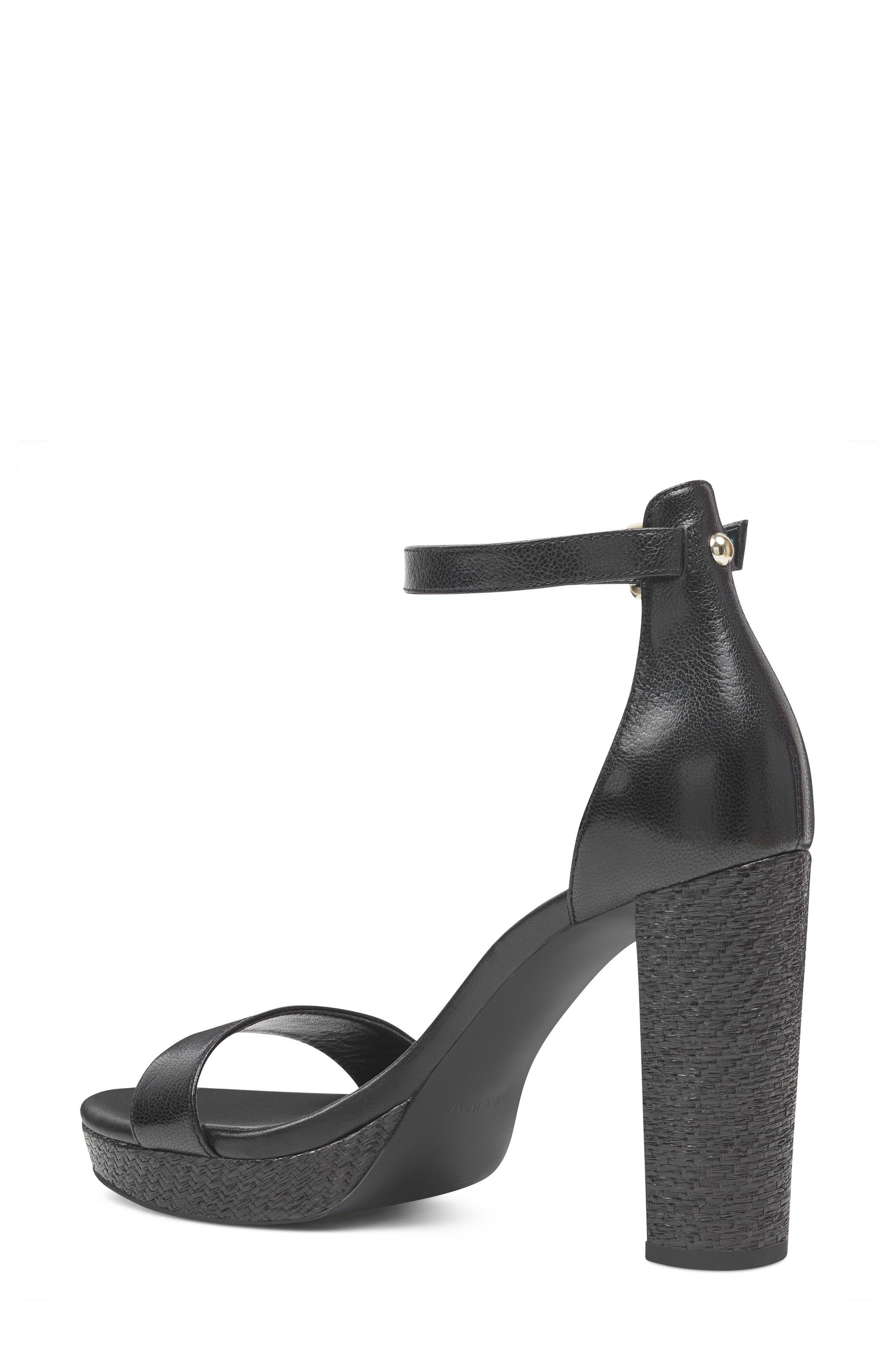 Dempsey Platform Sandal,                             Alternate thumbnail 2, color,                             Black
