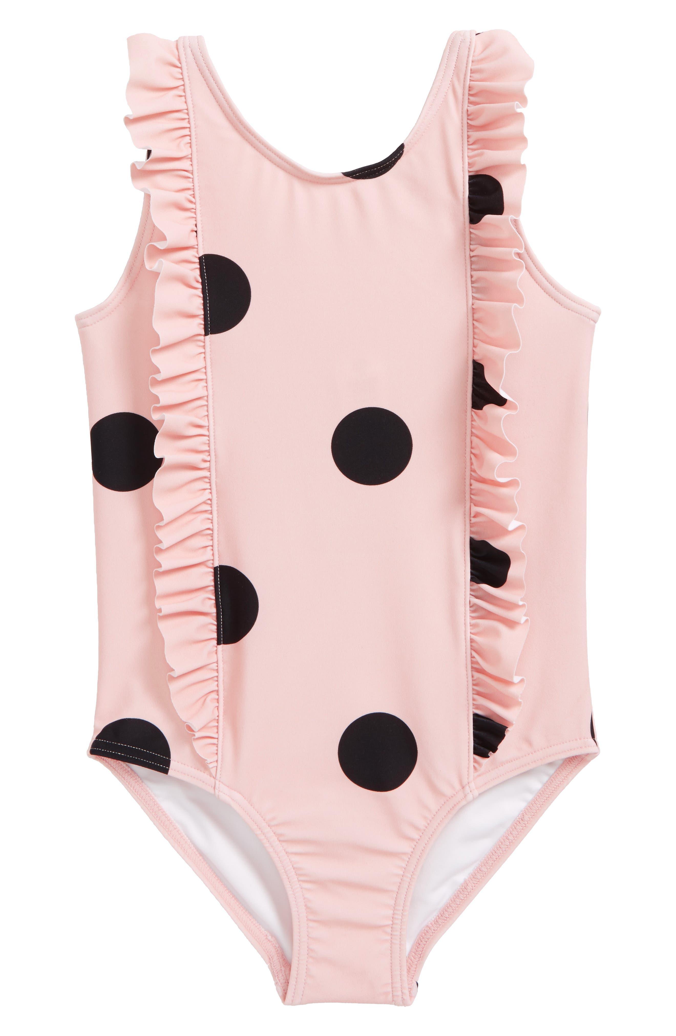 Tucker + Tate Ruffle One-Piece Swimsuit (Toddler Girls, Little Girls & Big Girls)
