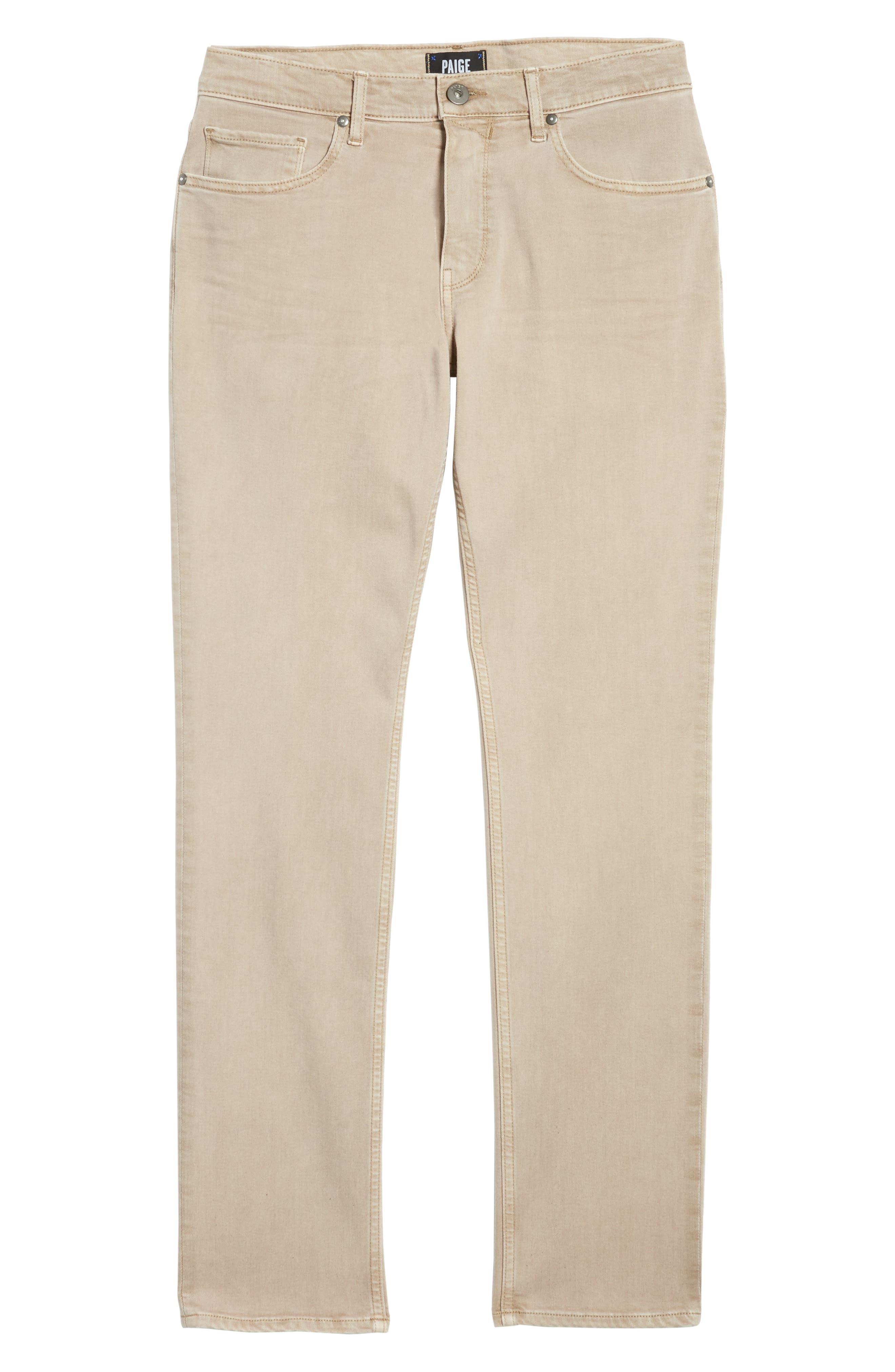 Federal Slim Straight Leg Jeans,                             Alternate thumbnail 6, color,                             Vintage Dune