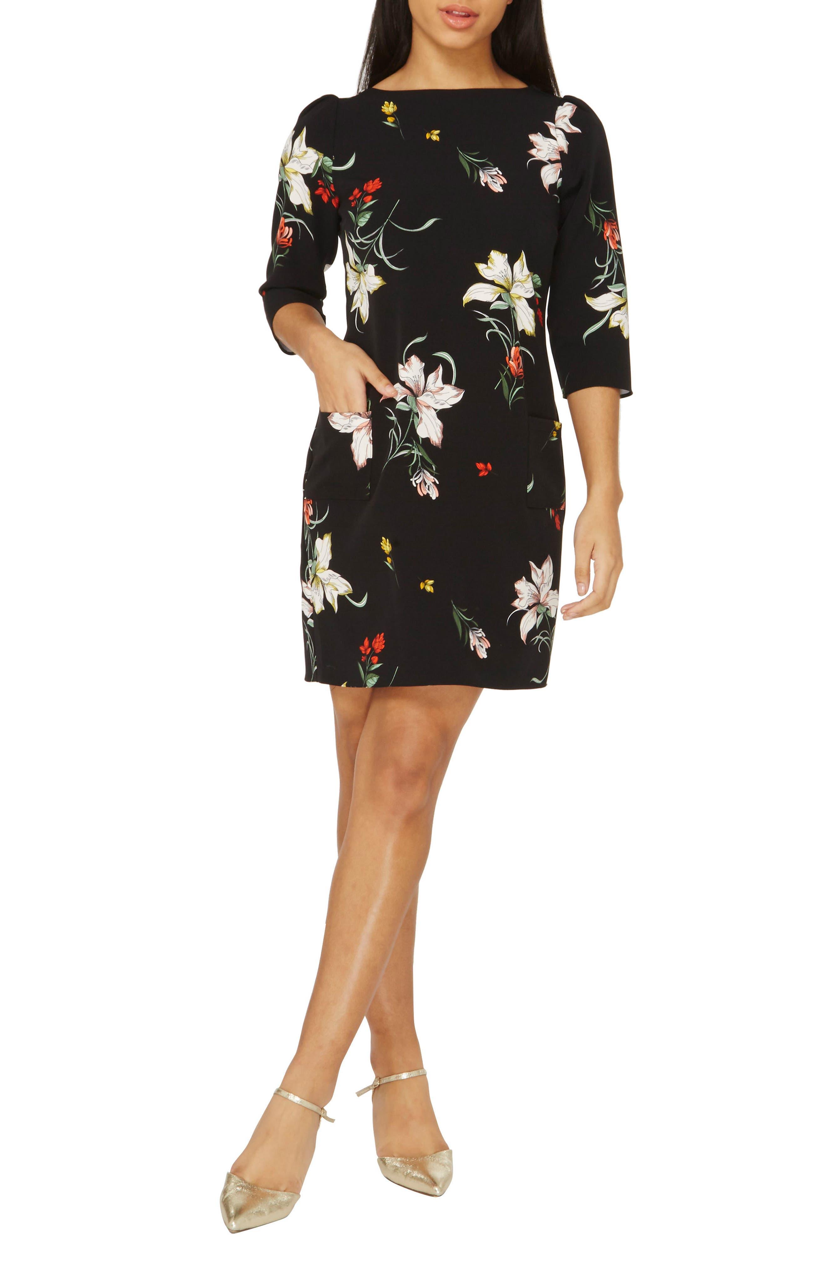 Dorothy Perkins Orchid Print Shift Dress