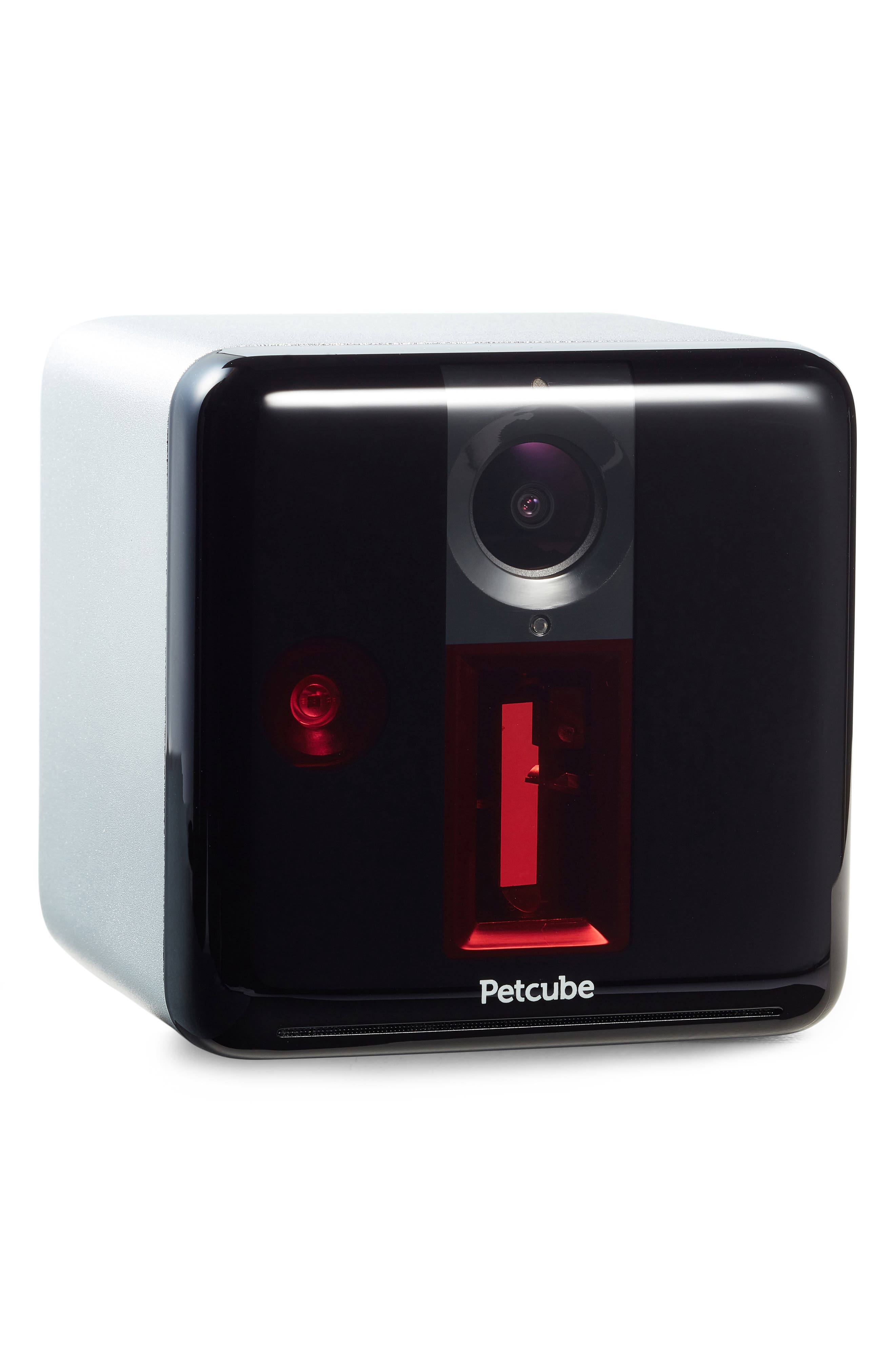 Play Interactive Wi-Fi Pet Camera,                         Main,                         color, Matte Silver