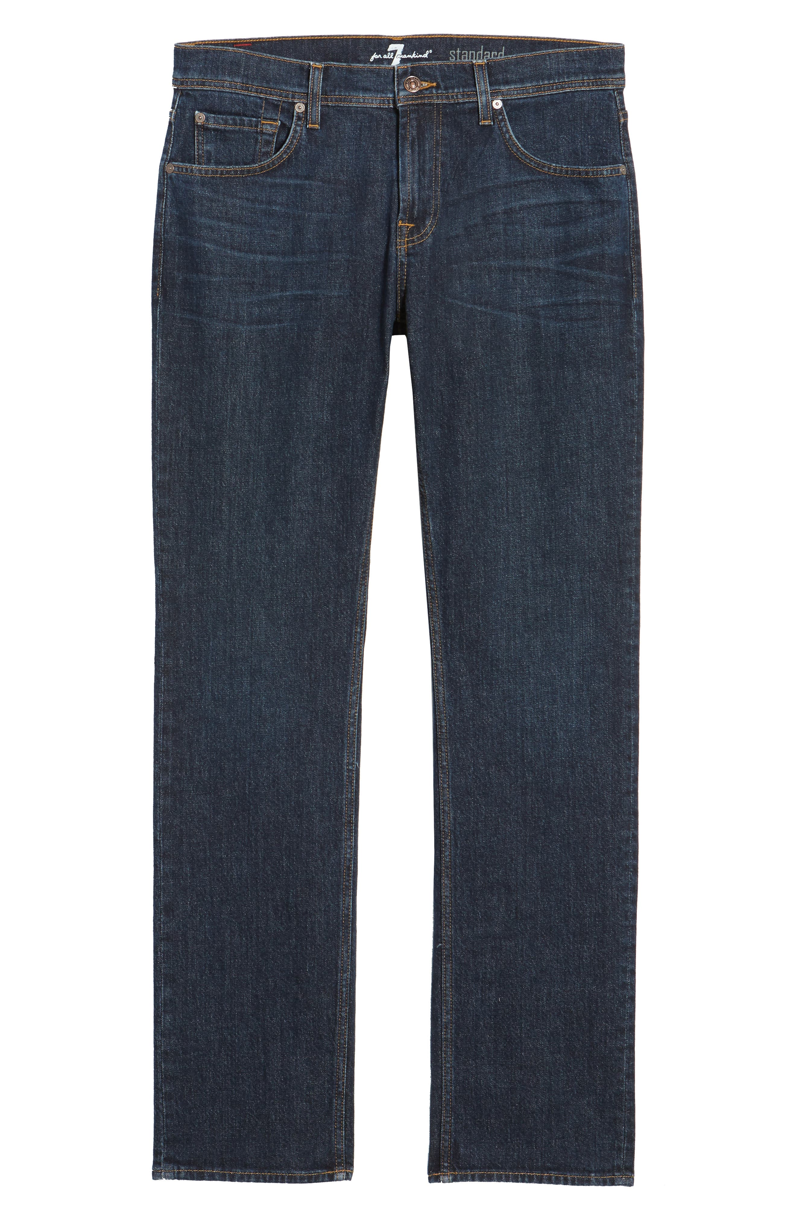 Standard Straight Leg Jeans,                             Alternate thumbnail 6, color,                             Forfeit