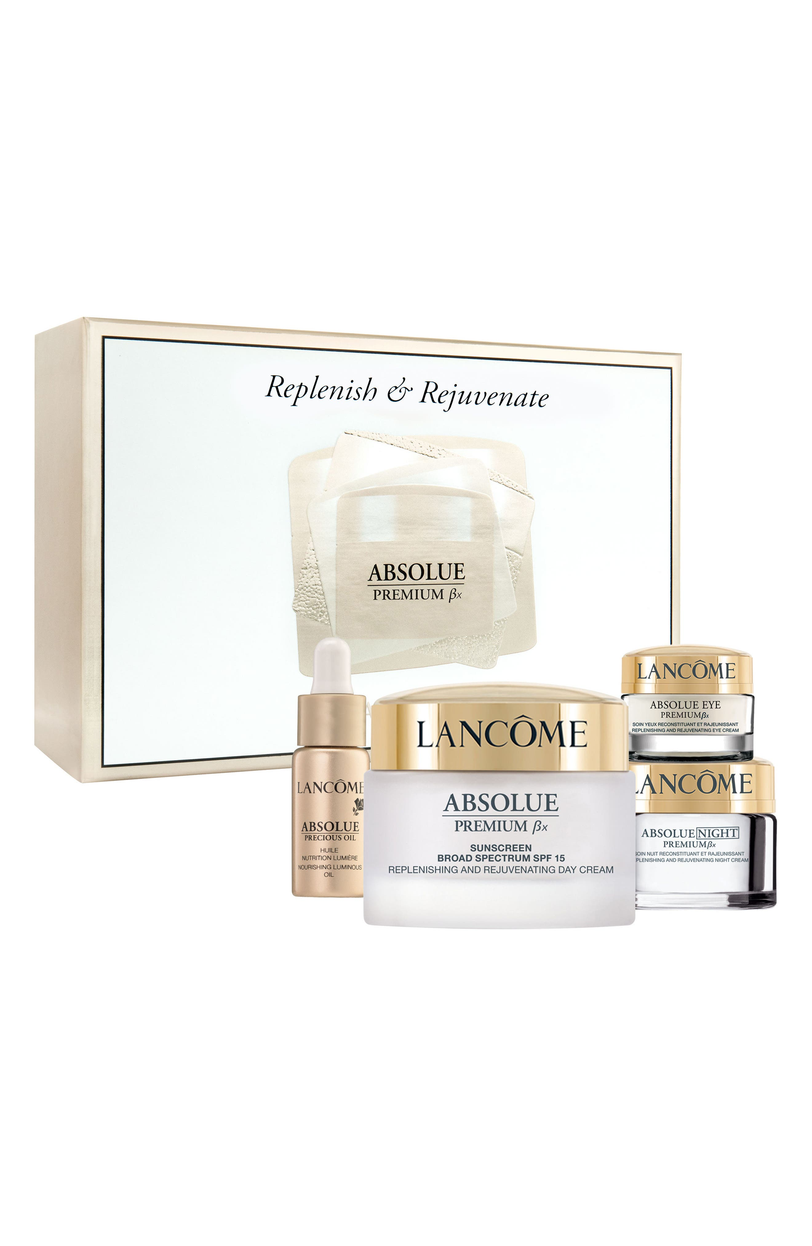 Replenish & Rejuvenate Absolue Premium Bx Set,                             Main thumbnail 1, color,                             No Color