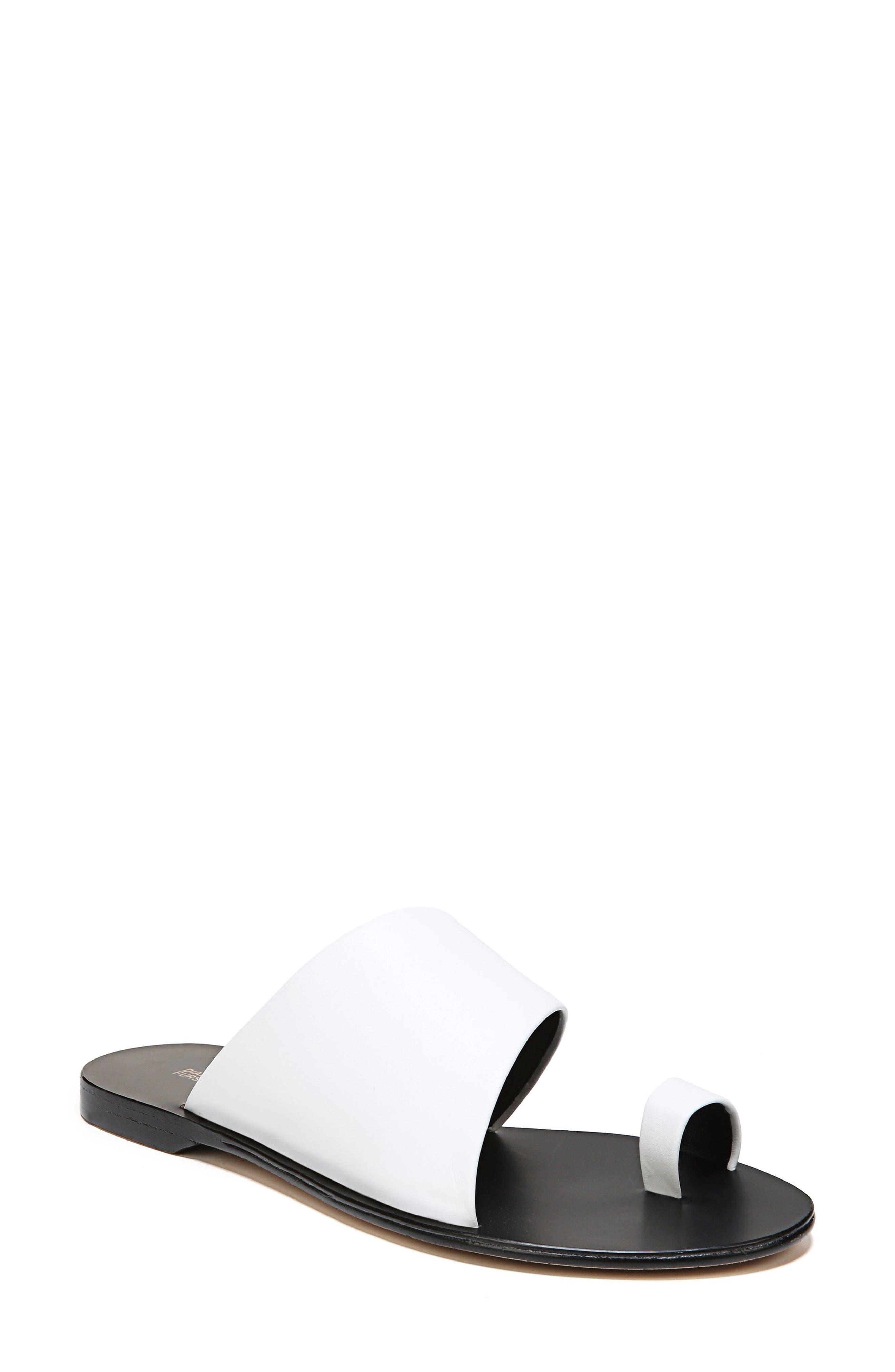 Diane Von Furstenberg Woman Farah Suede Slingback Sandals Black Size 9.5 Diane Von F Cheap Sale Geniue Stockist Outlet Big Discount Z0PCb6