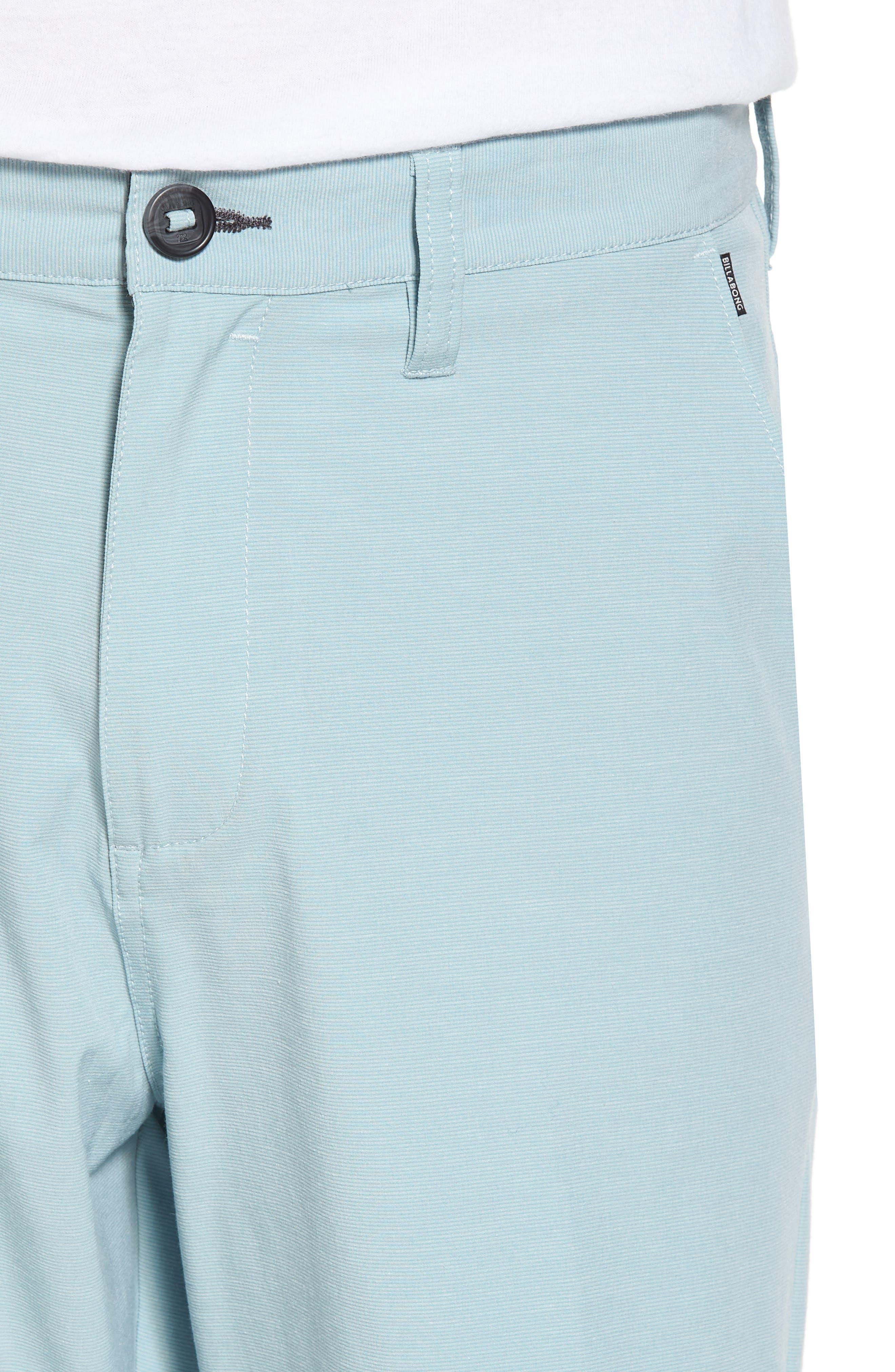Crossfire X Hybrid Shorts,                             Alternate thumbnail 4, color,                             Dusty Blue