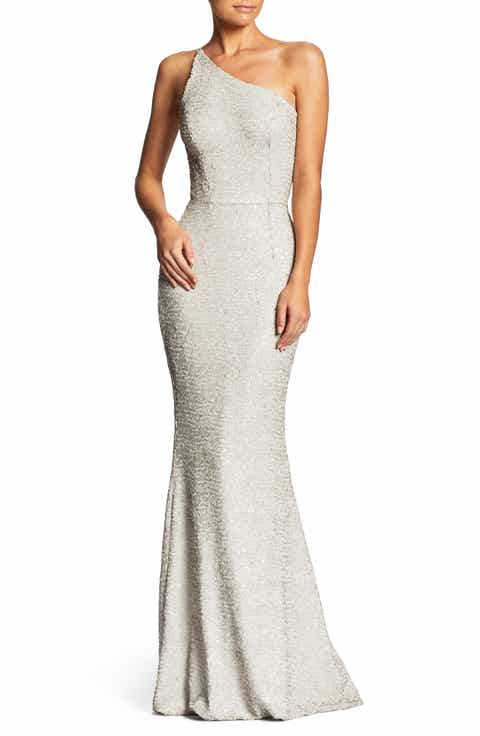 Dress The Potion Bella One Shoulder Mermaid Gown