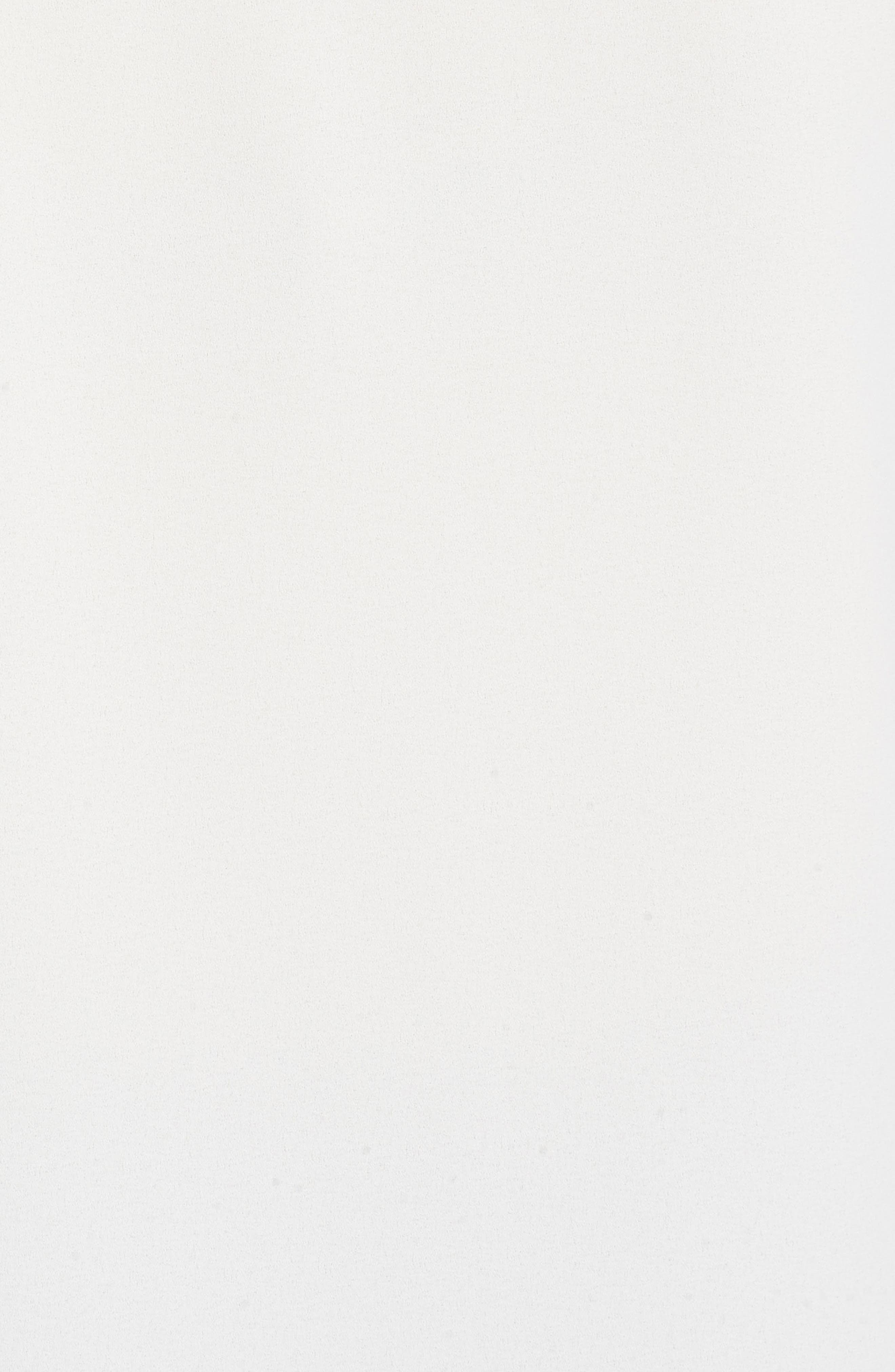 Ruffle Front Blouse,                             Alternate thumbnail 5, color,                             White
