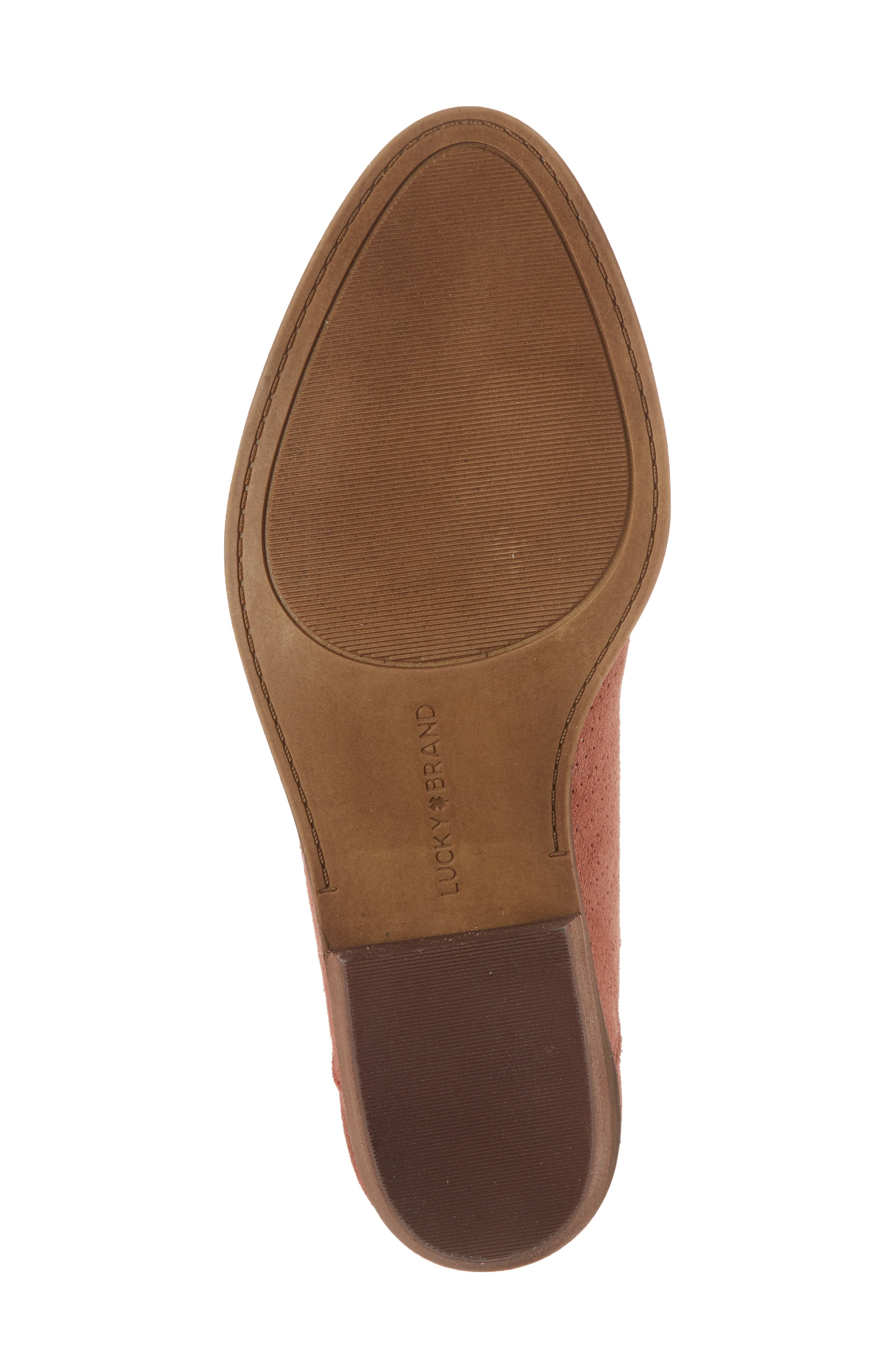 Fayth Bootie,                             Alternate thumbnail 6, color,                             Canyon Rose Suede