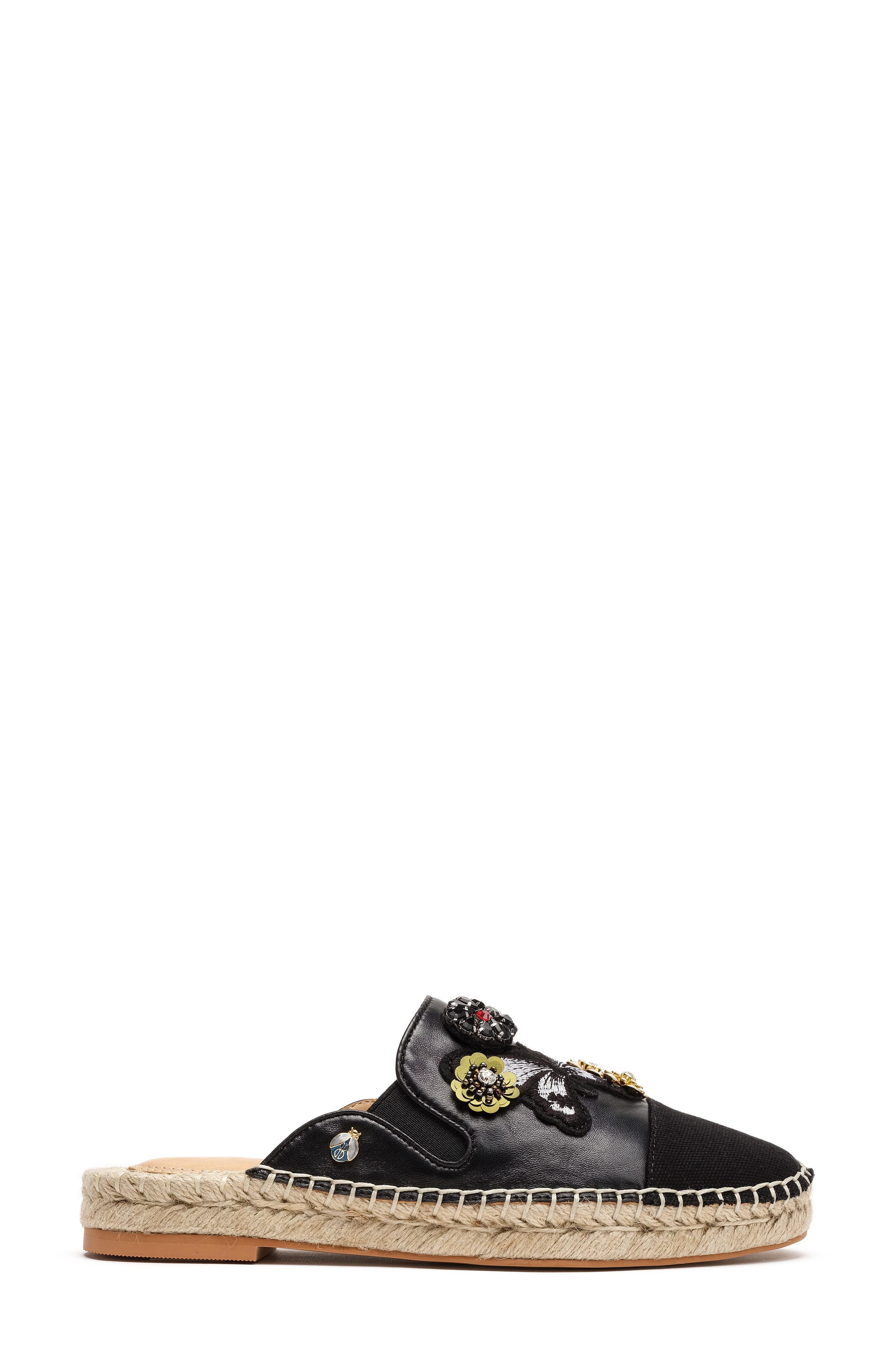 Bill Blass Women's Wallis Embellished Espadrille Mule V1xCETVAf