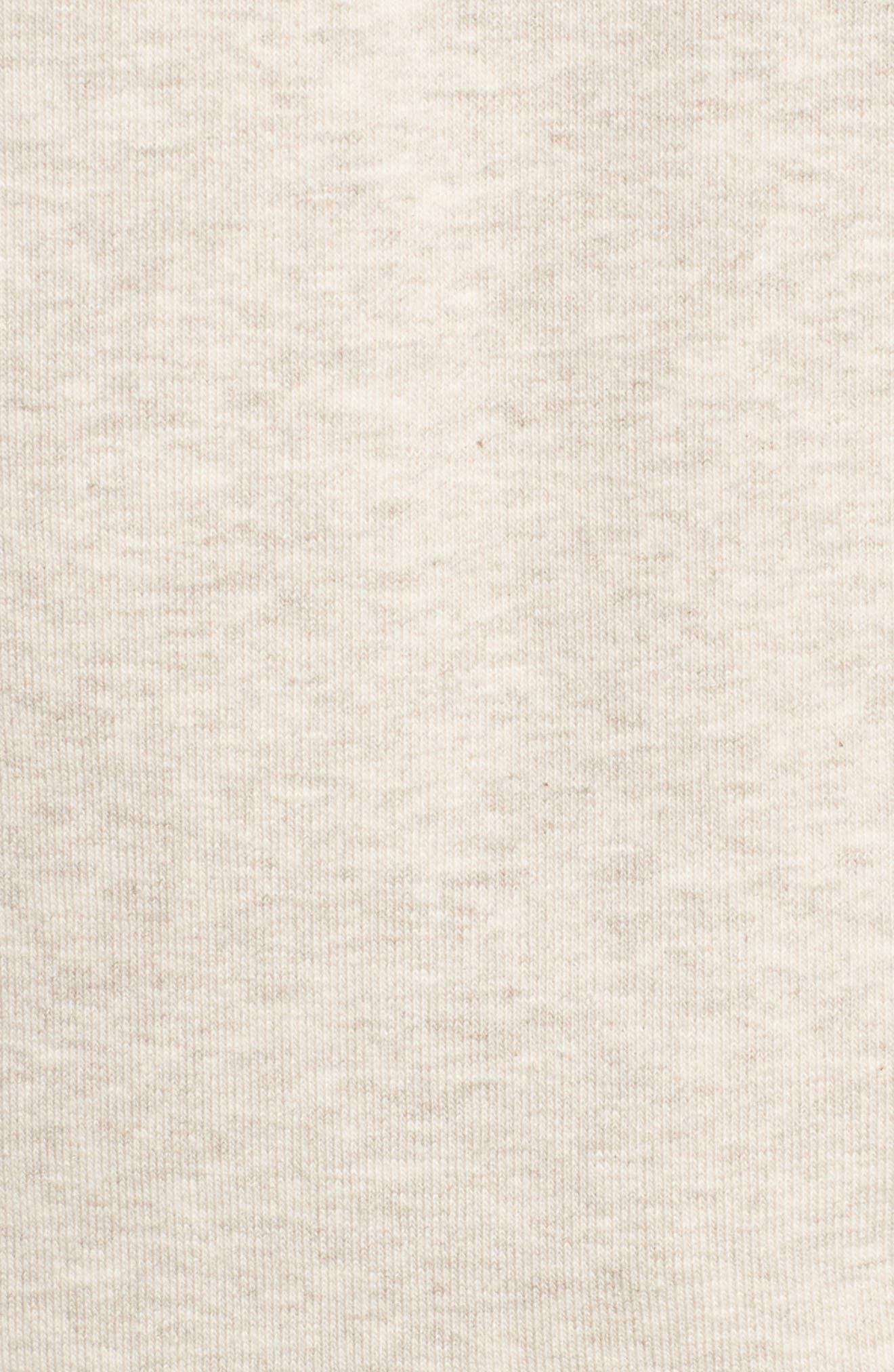 Logo Sweatshirt,                             Alternate thumbnail 6, color,                             Oatmeal