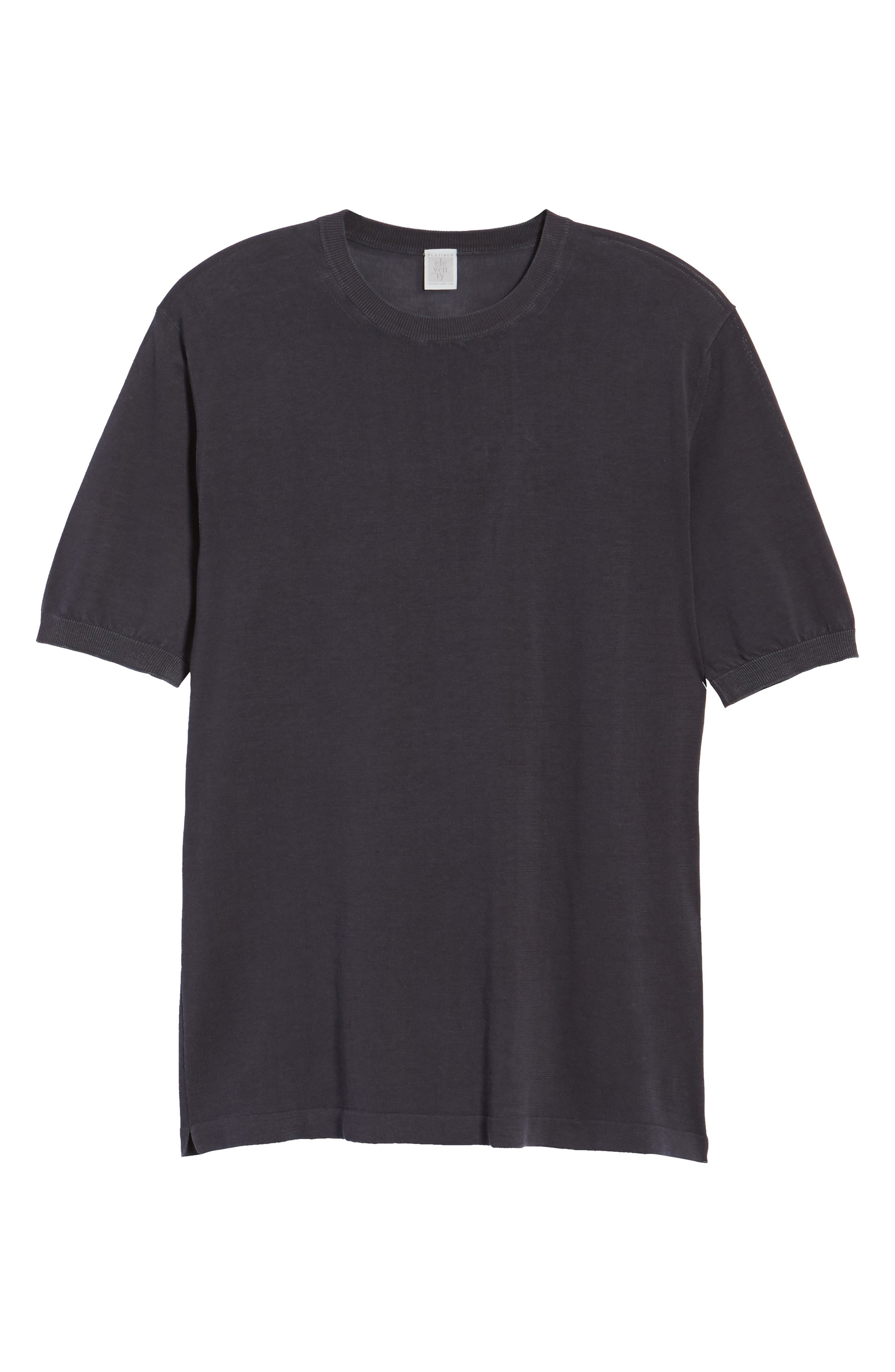 Alternate Image 6  - Eleventy Fresco Crewneck Cotton T-Shirt