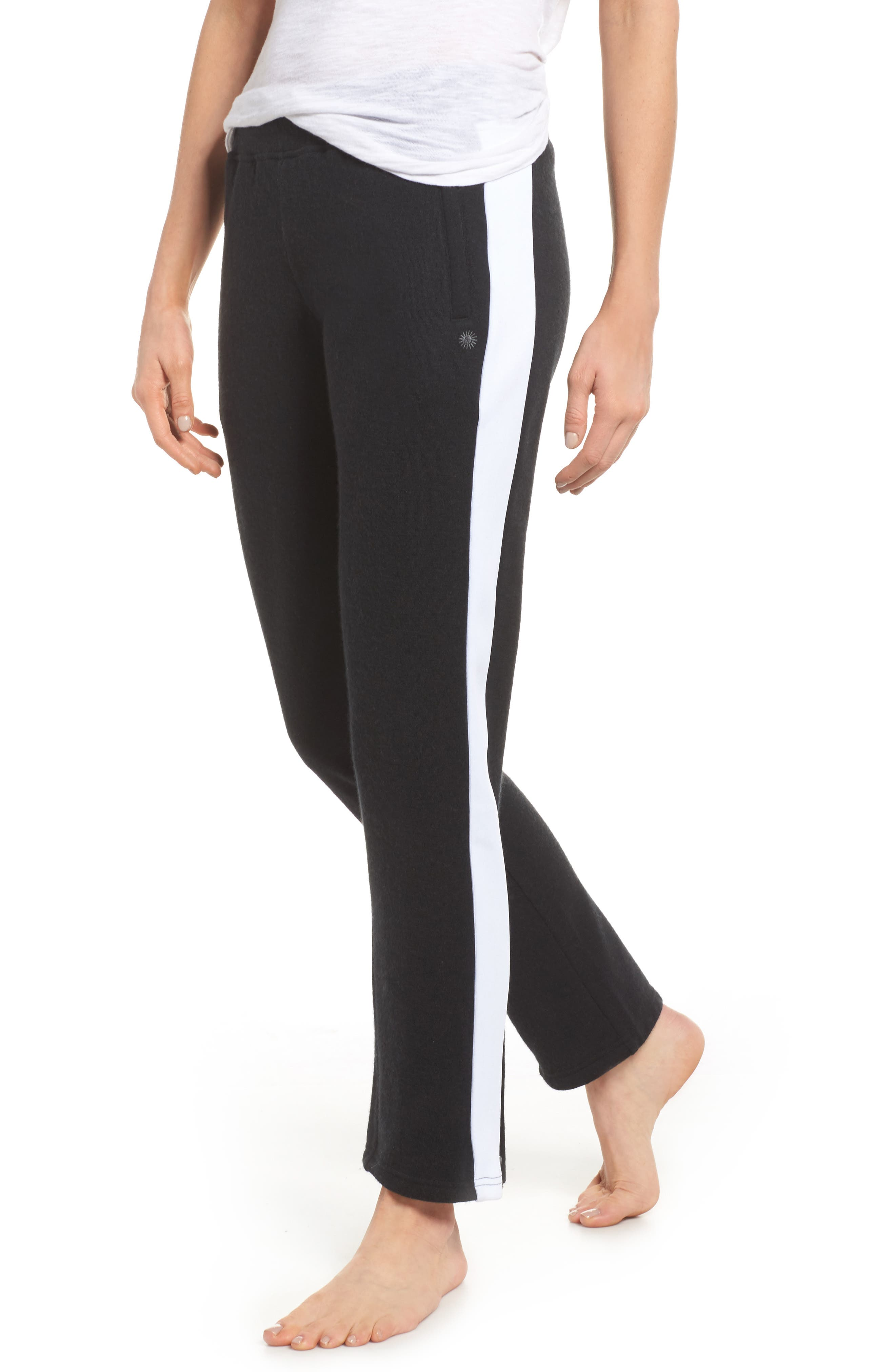 Lizy Track Pants,                             Main thumbnail 1, color,                             Black