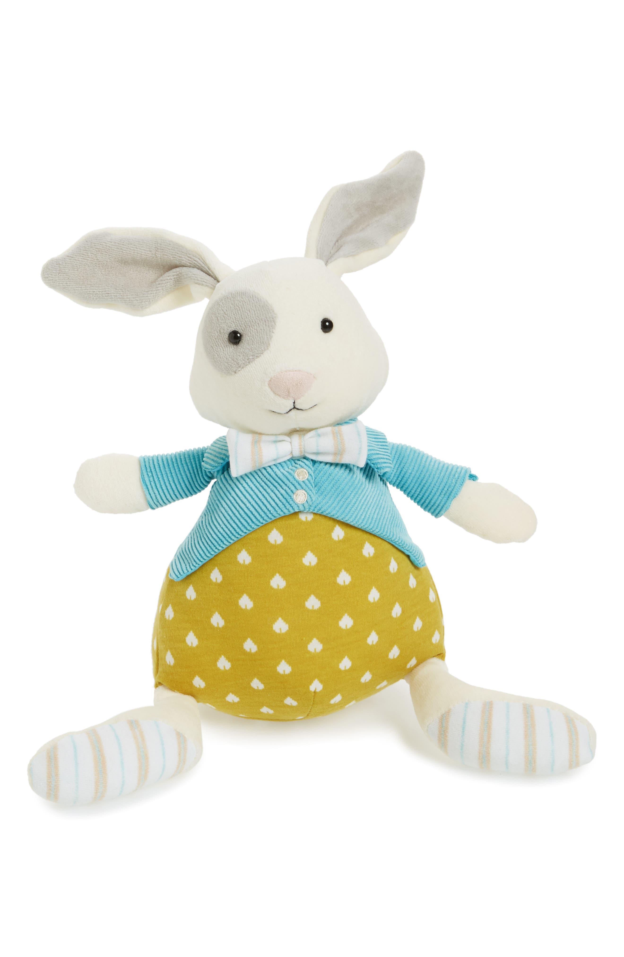 Lewis Rabbit Stuffed Animal,                             Main thumbnail 1, color,                             Multi