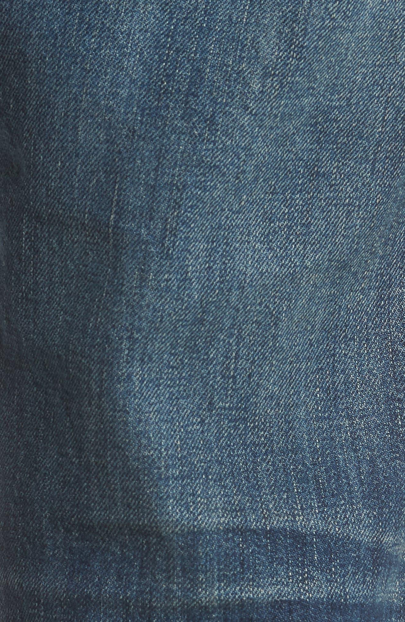 Adrien Slim Fit Jeans,                             Alternate thumbnail 5, color,                             Legend