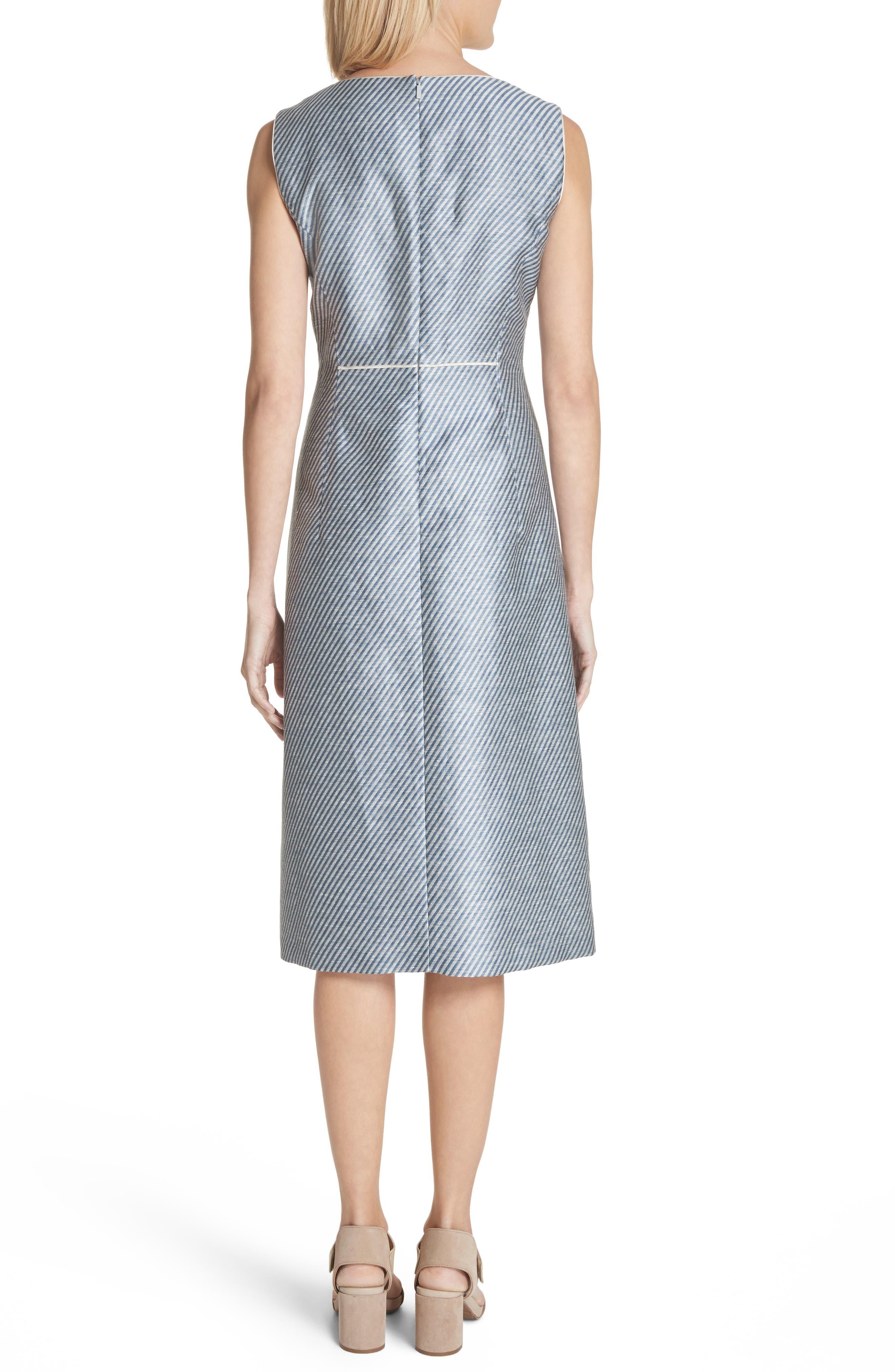 Jojo Sheath Dress,                             Alternate thumbnail 2, color,                             Glaze Blue Multi