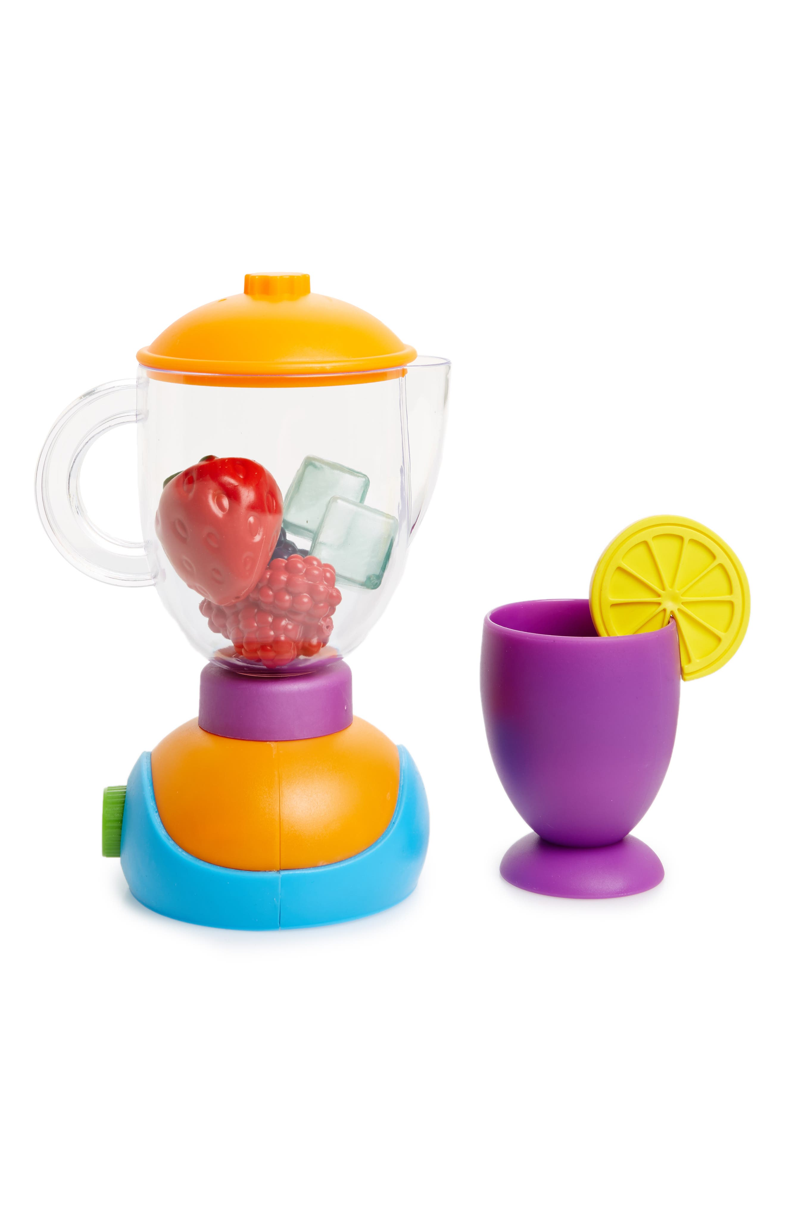 New Sprouts 9-Piece Blender and Fruit Set,                             Main thumbnail 1, color,                             Orange