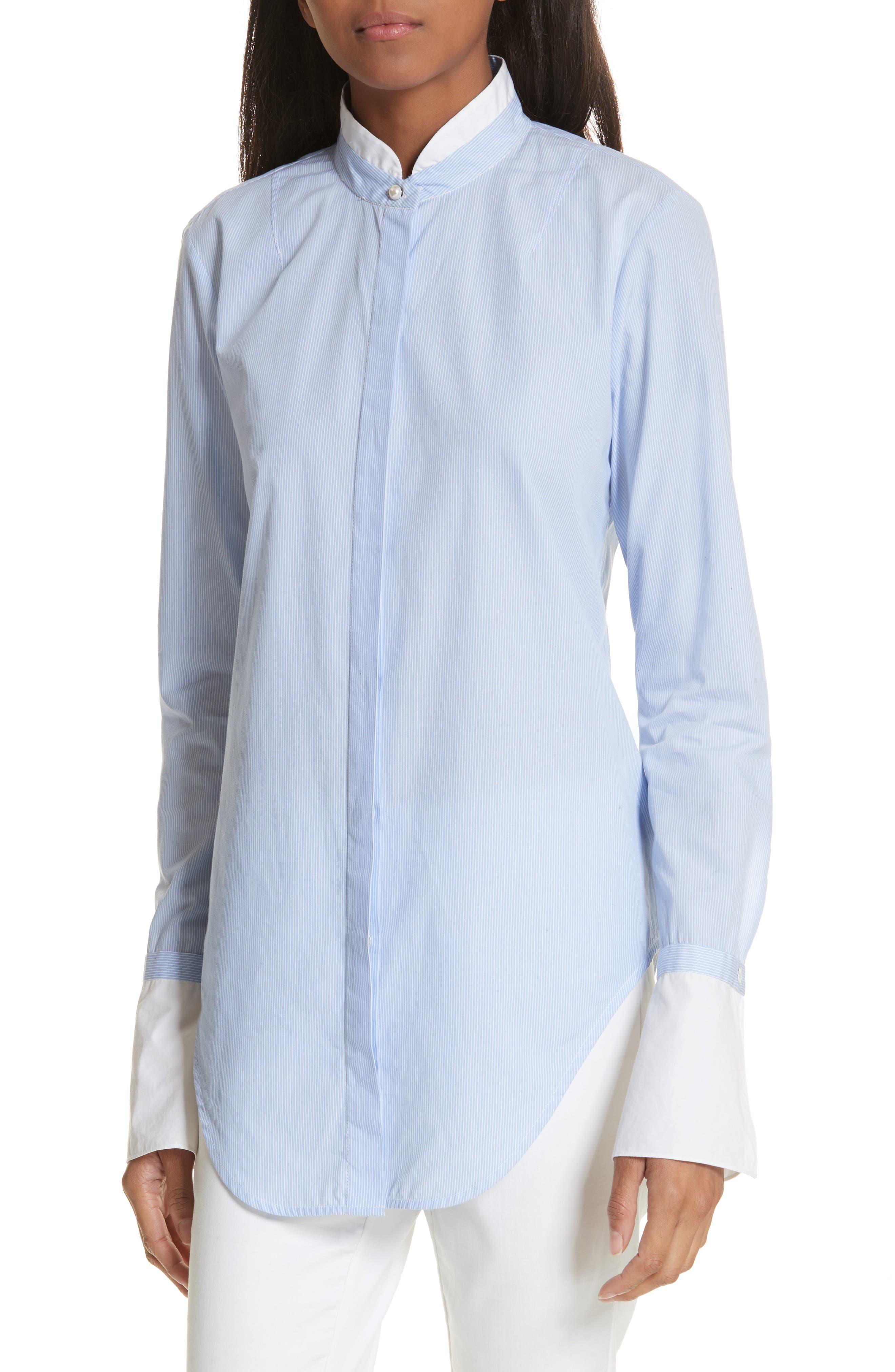 rag & bone Allie Stripe Cotton Shirt