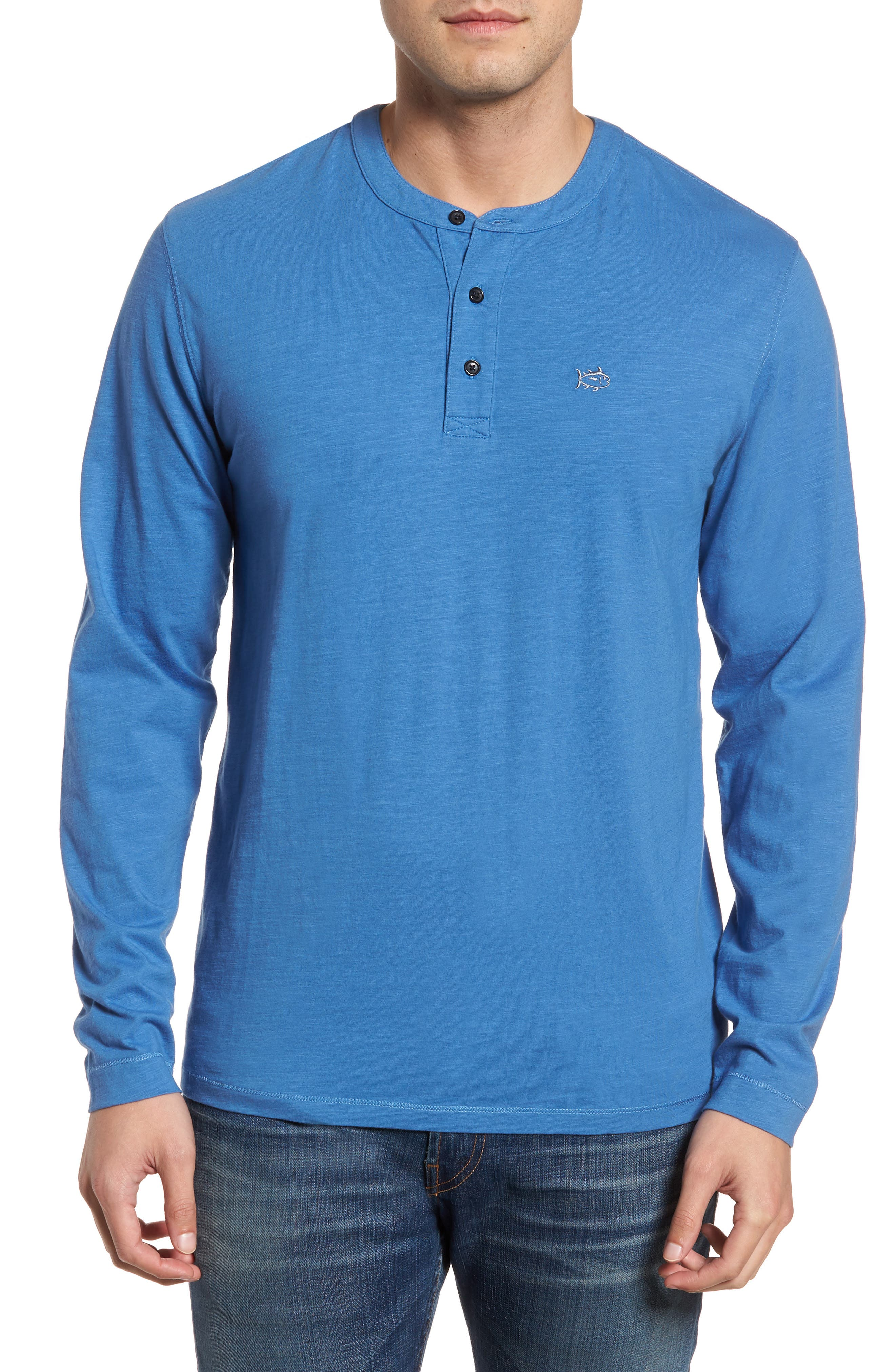 Jennings Henley,                         Main,                         color, Dutch Blue