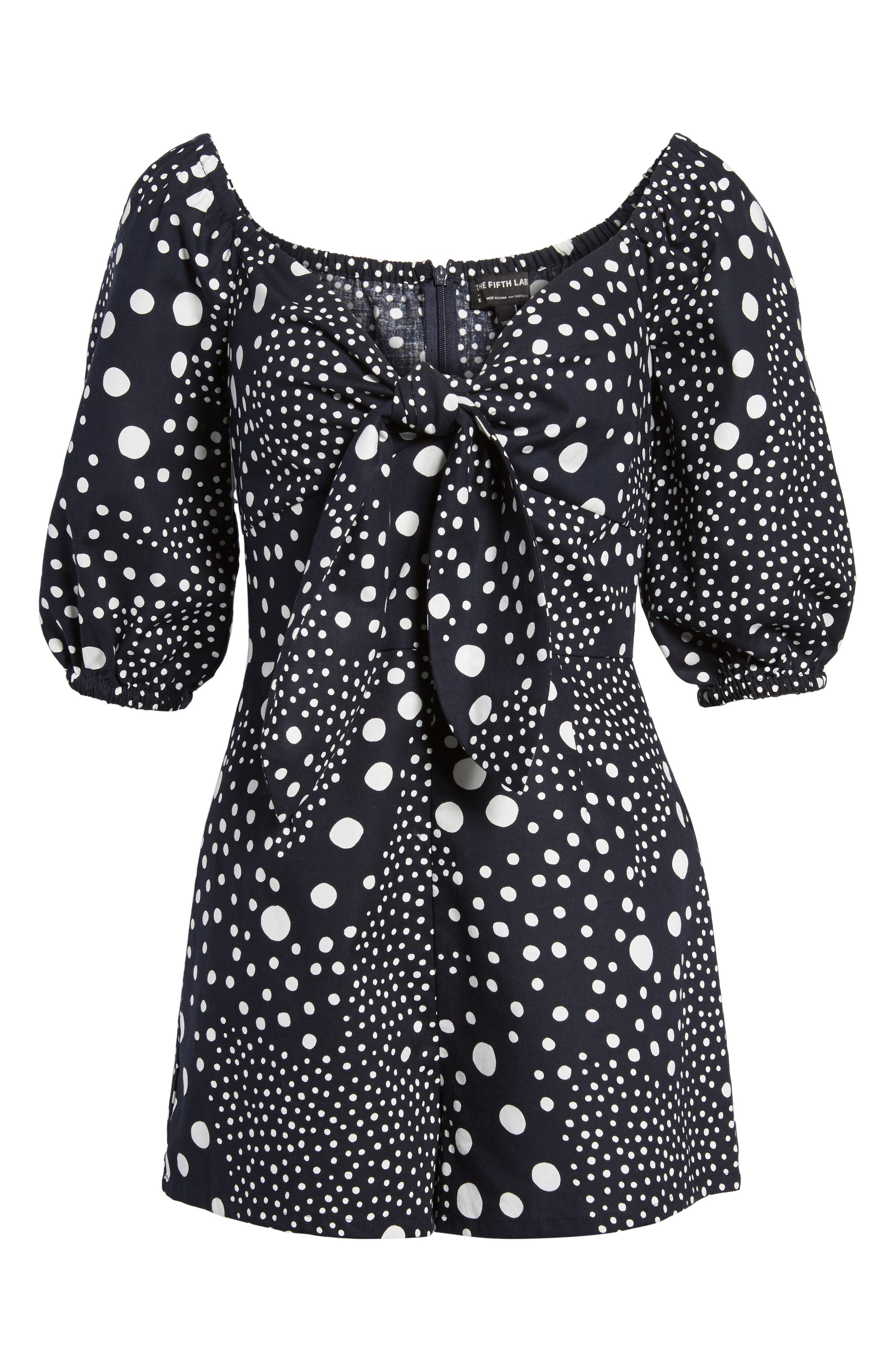 Alternate Image 7  - The Fifth Label Lagoon Puff Sleeve Romper