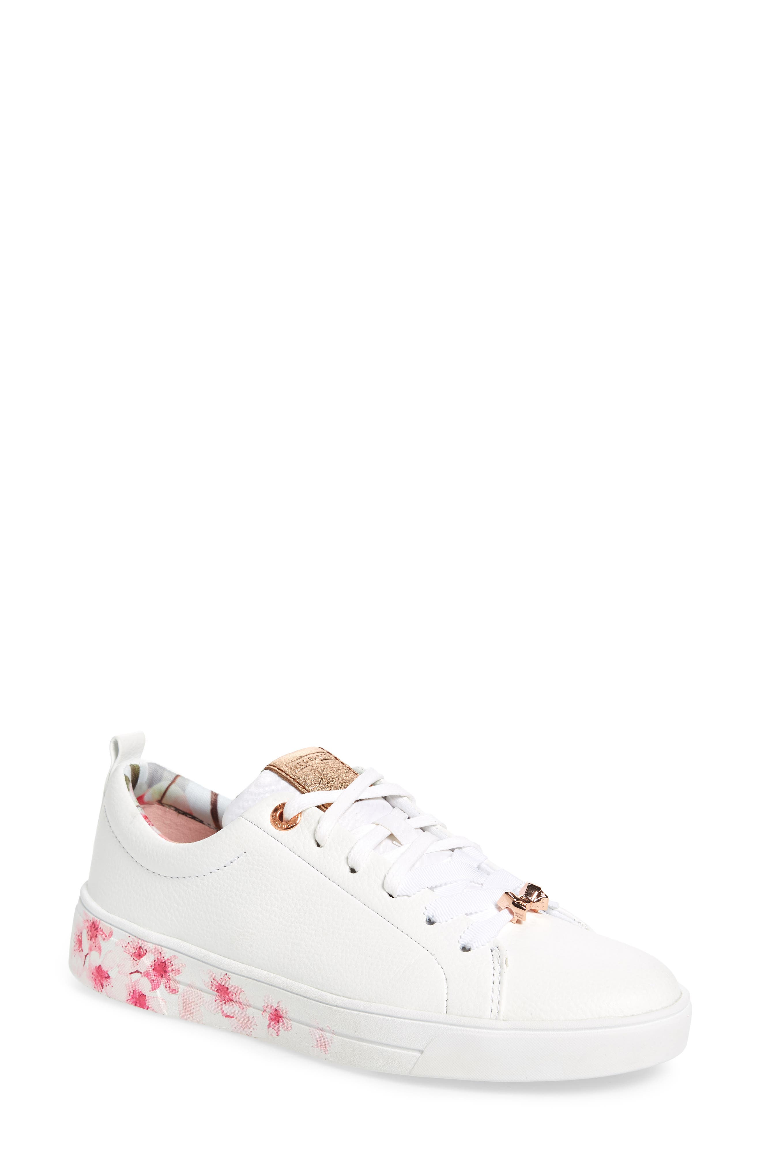 Ted Baker Women's Kelleip Leather Lace Up Platform Sneakers Y8cFetzSM9