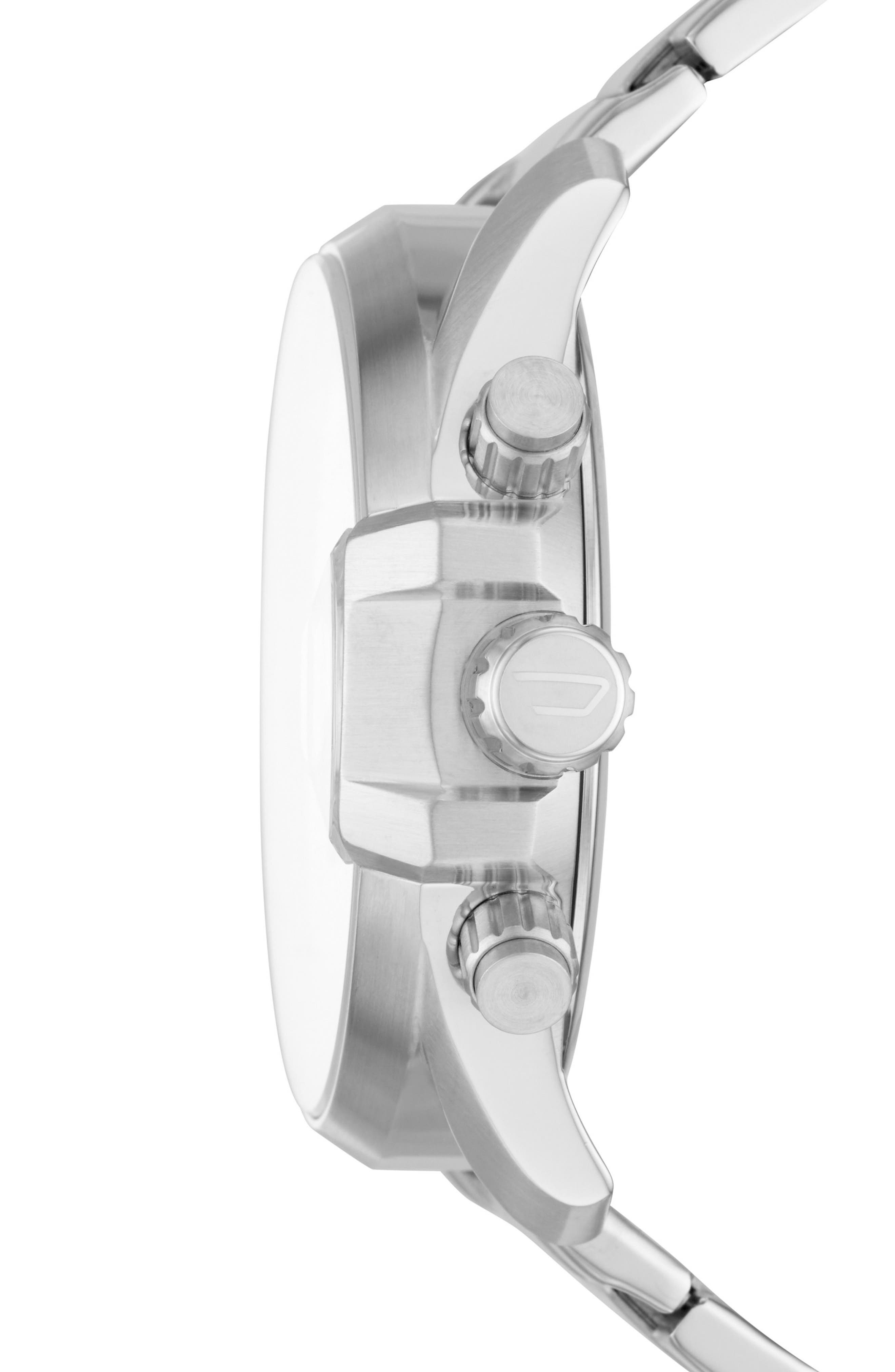 Alternate Image 2  - DIESEL® MS9 Chronograph Bracelet Watch, 47mm