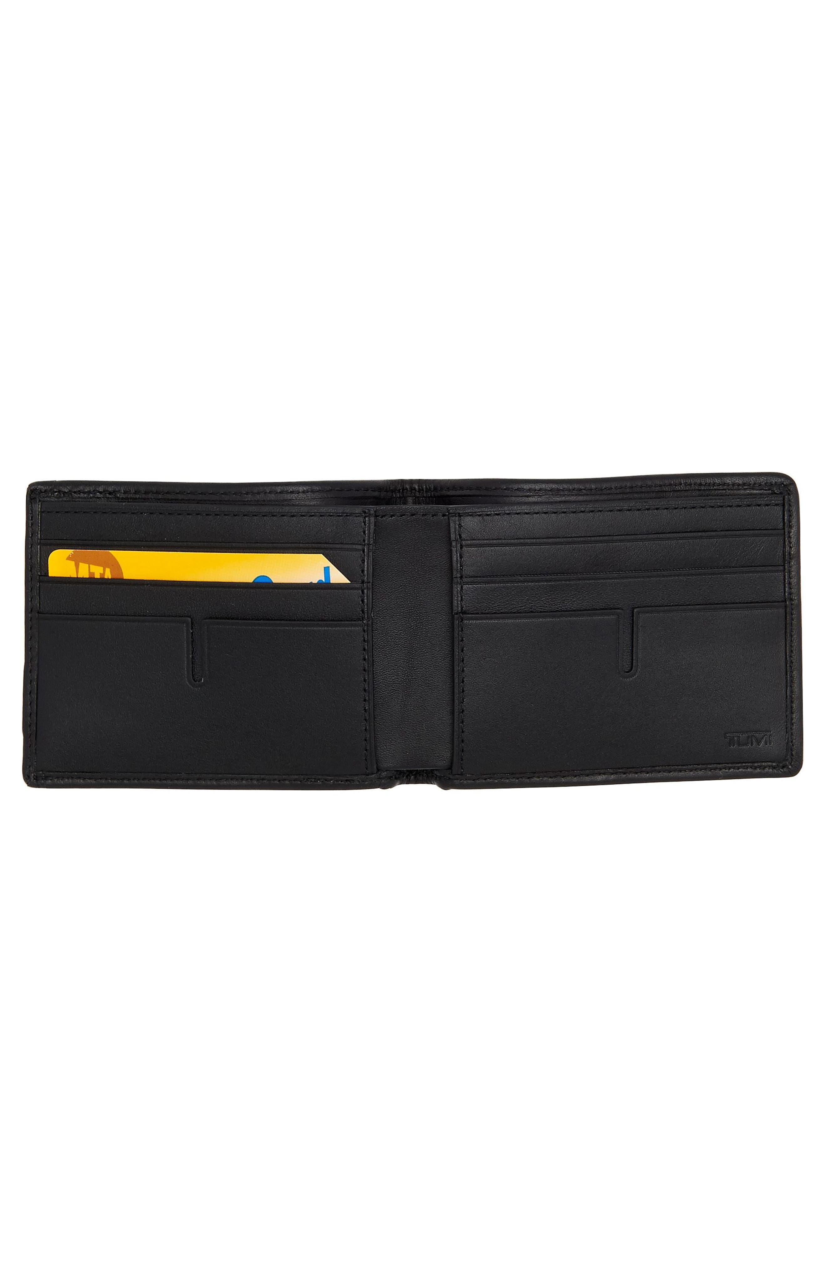 Alpha Billfold Wallet,                             Alternate thumbnail 2, color,                             Anthracite/ Black